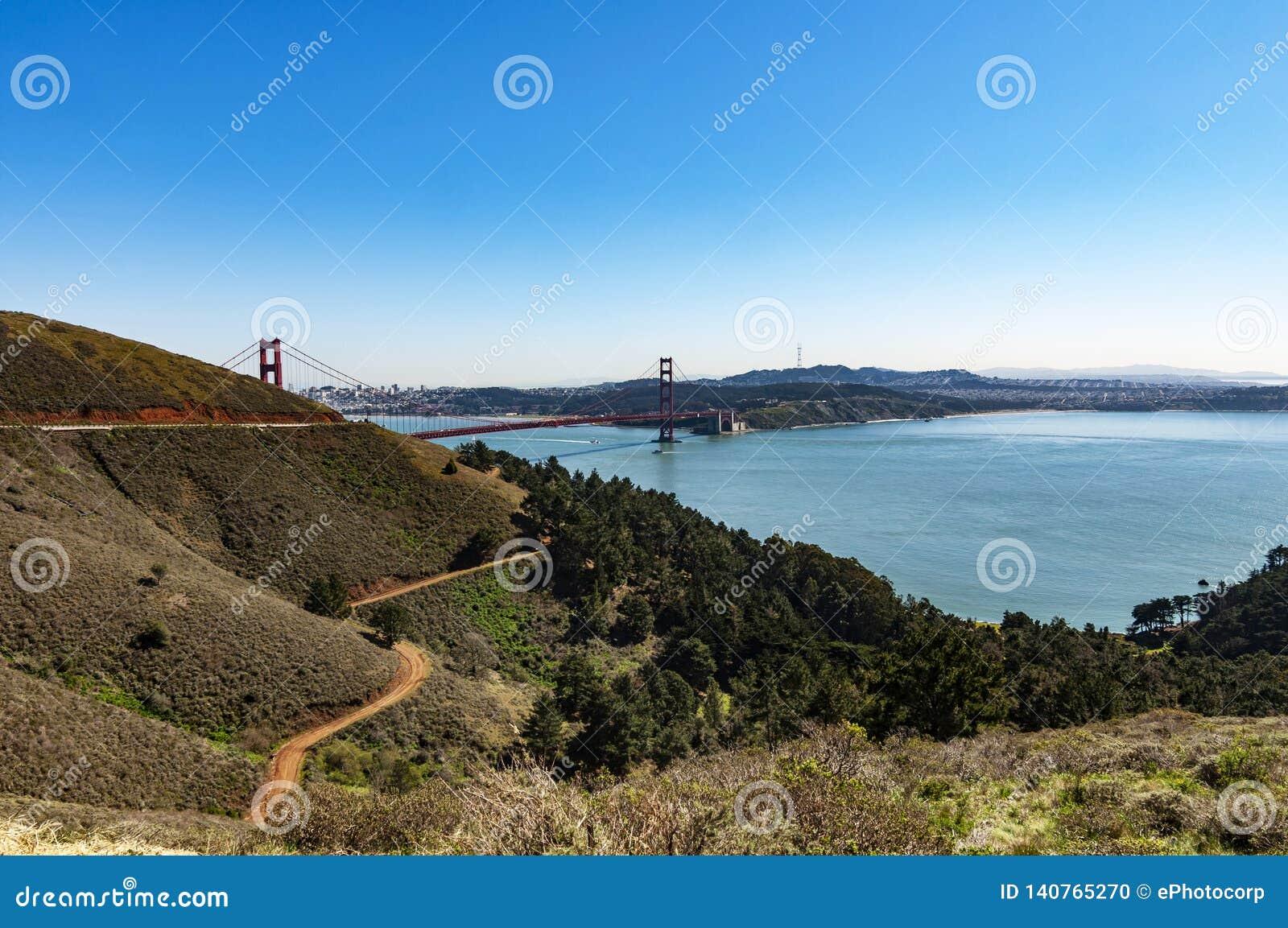 Golden Gate Bridge, San Francisco, Stany Zjednoczone Ameryka