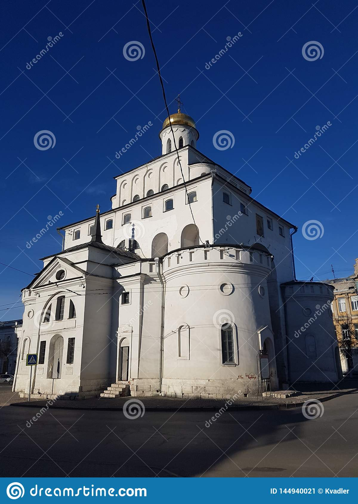 The Golden Gate of Vladimir constructed between 1158 and 1164, Russia in the Golden Ring of Russia