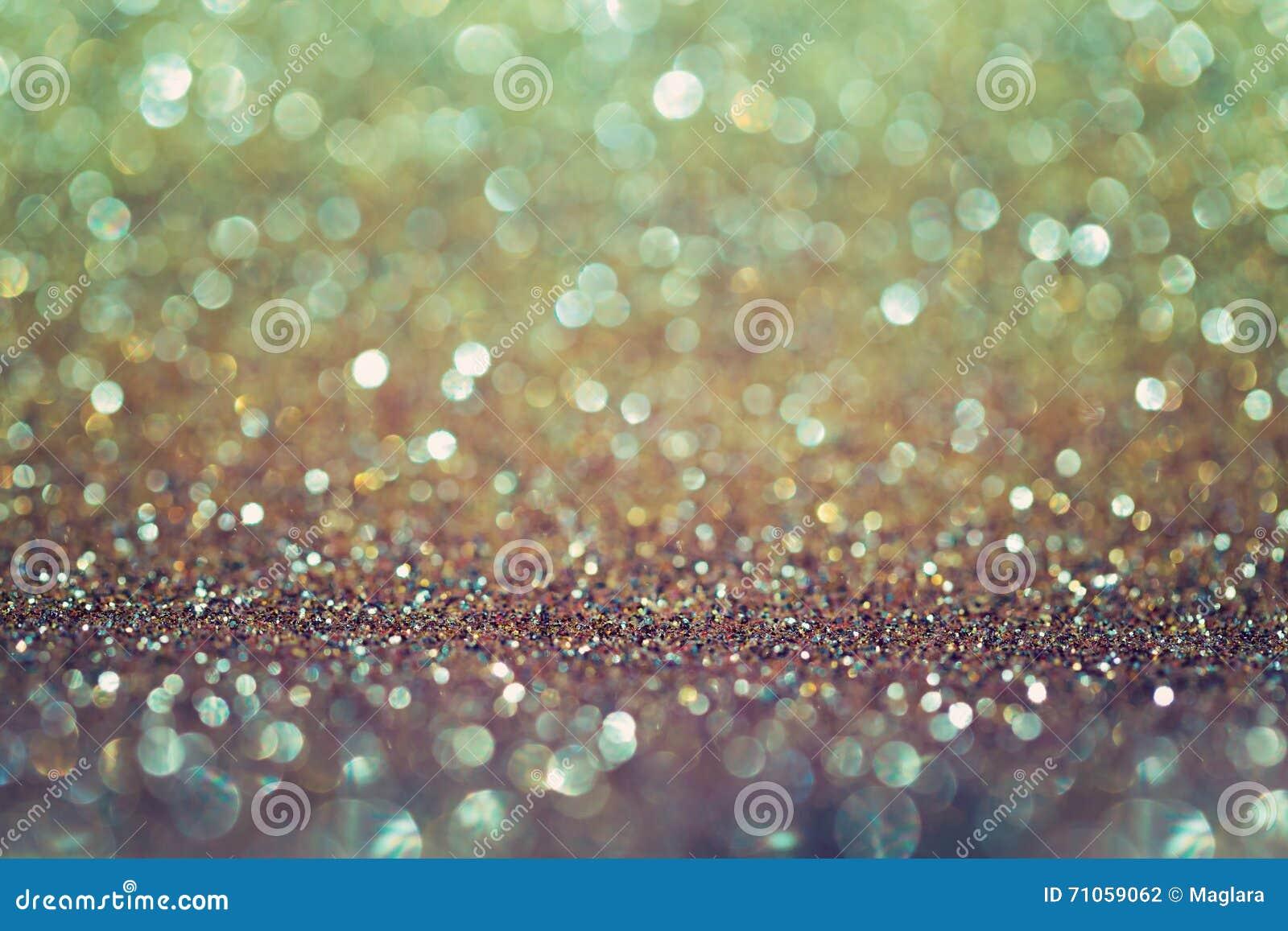 golden glitter bokeh background elegant and glamour background