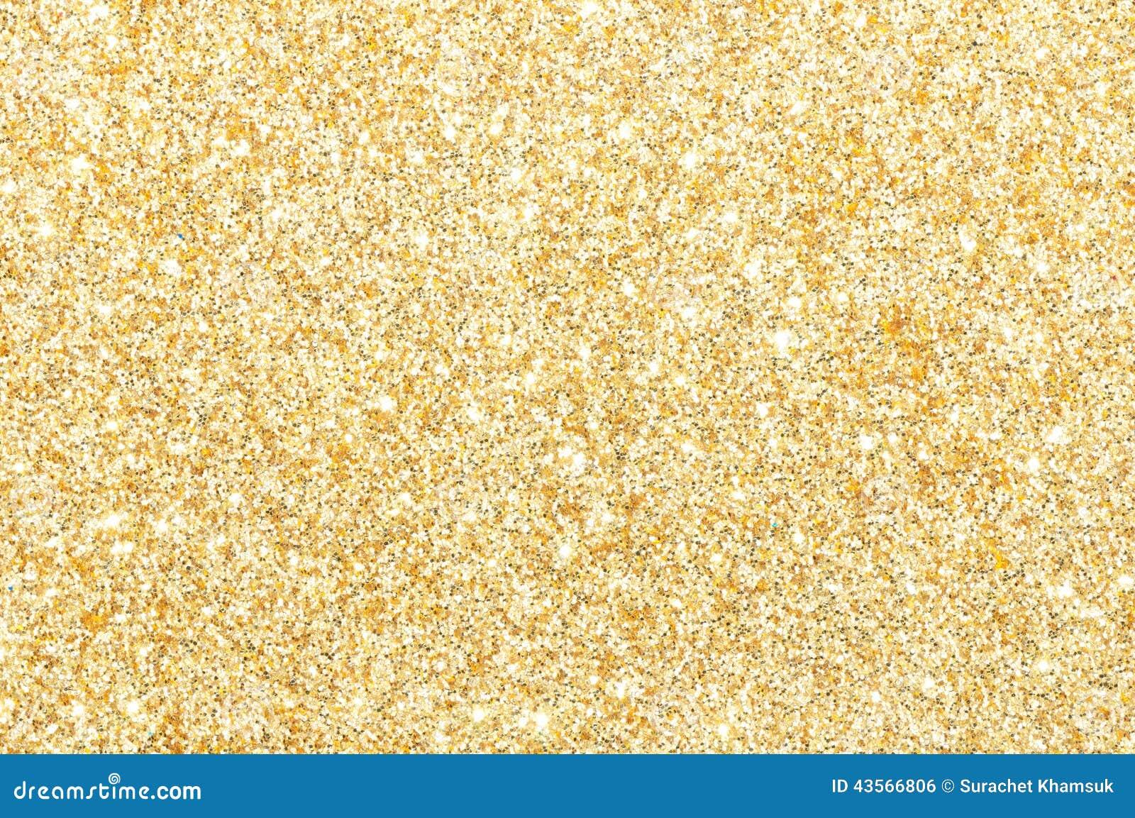 Golden Glitter Texture Background Stock Photo - Image: 43566806