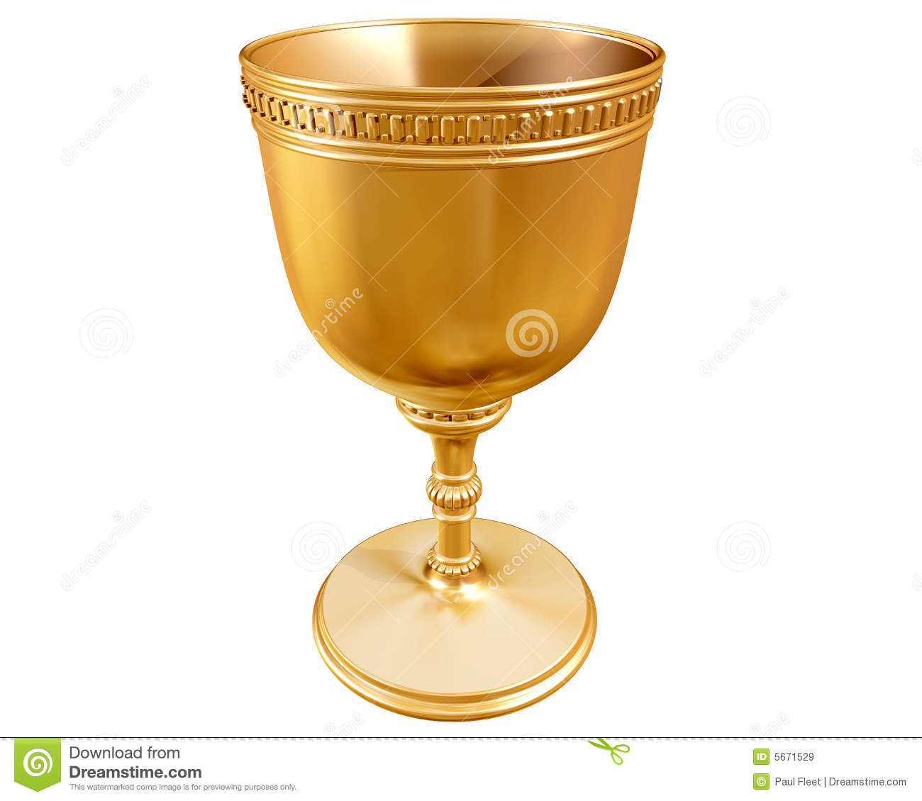 Golden Goblet Stock Photography - Image: 5389742