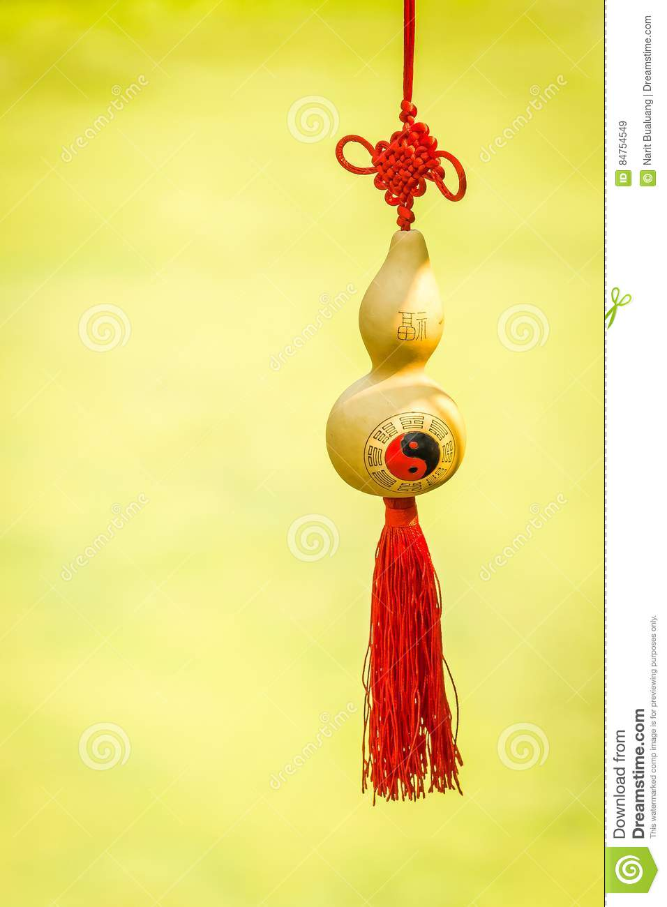 Golden Gourd For Chinese New Year Stock Image Image Of Peaceful