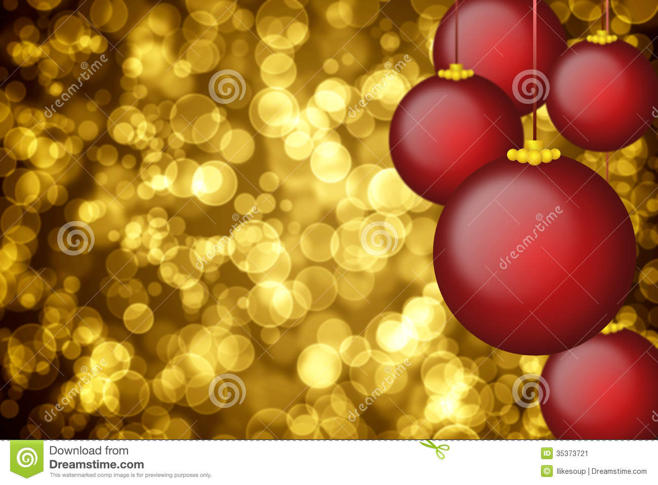 Christmas dress ornaments - Christmas Ornaments Background Golden Holiday Background With