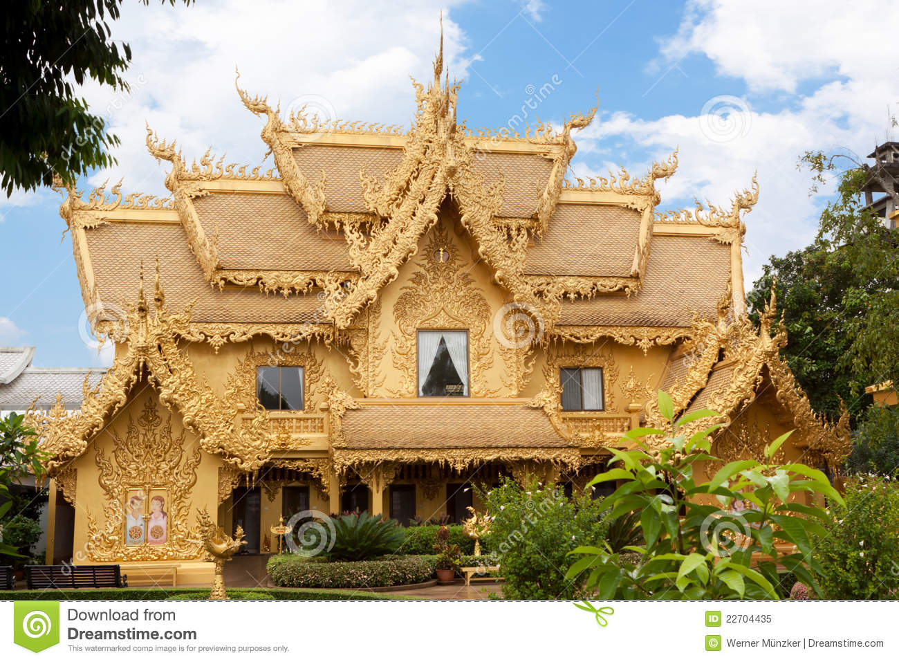 Golden house royalty free stock photo image 22704435 for Free house photos
