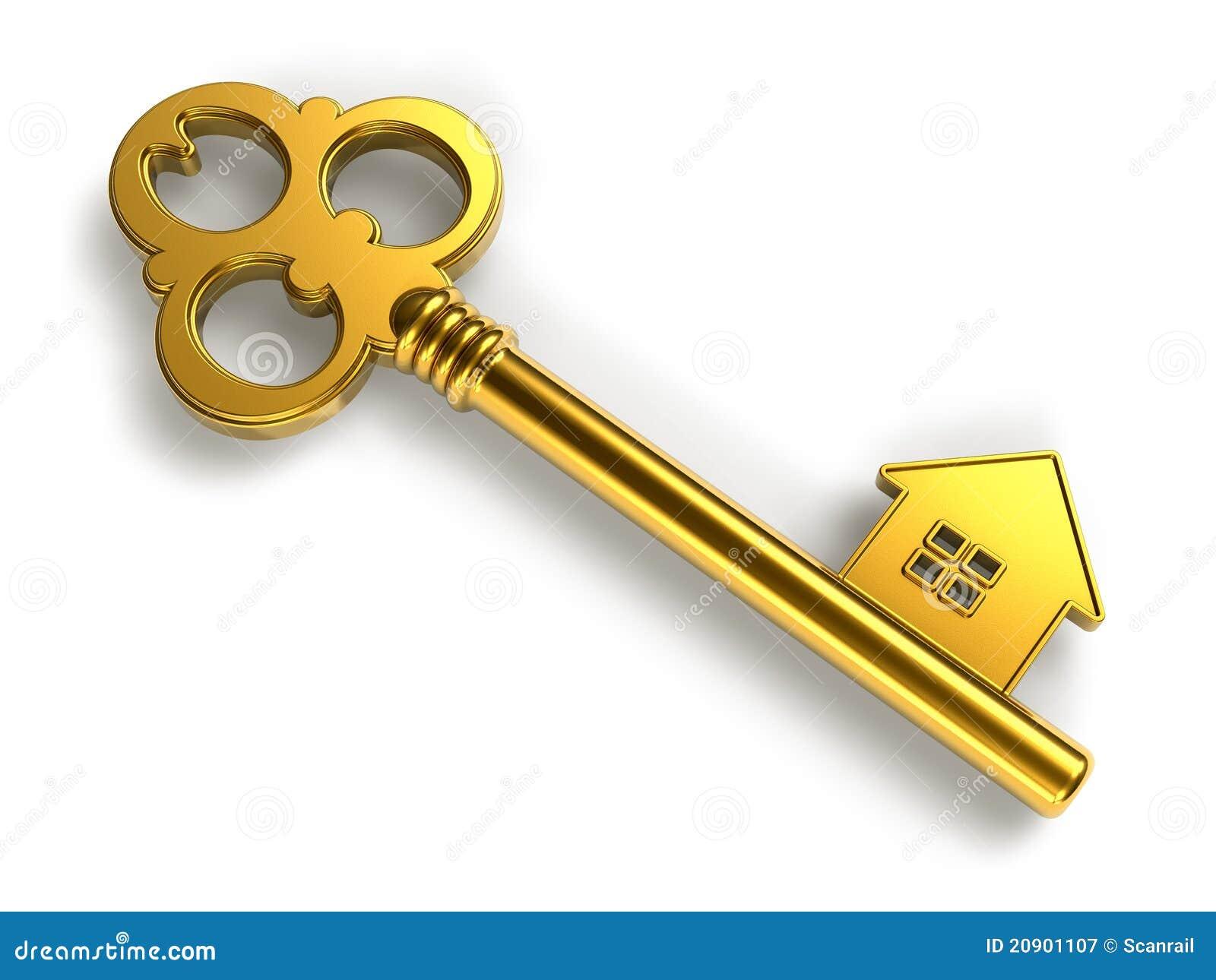 Golden house shape key stock illustration illustration of password golden house shape key colourmoves