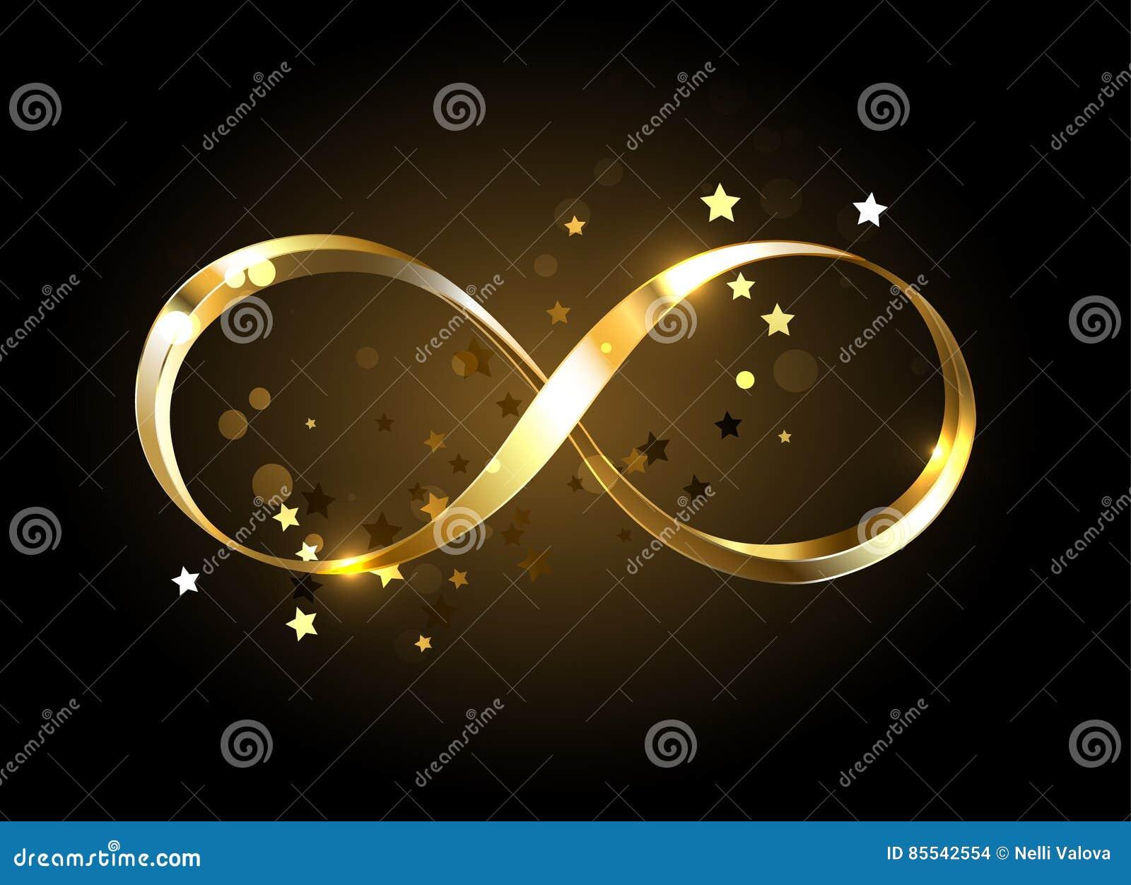 Golden infinity symbol stock vector image of illustration 85542554 golden infinity symbol biocorpaavc