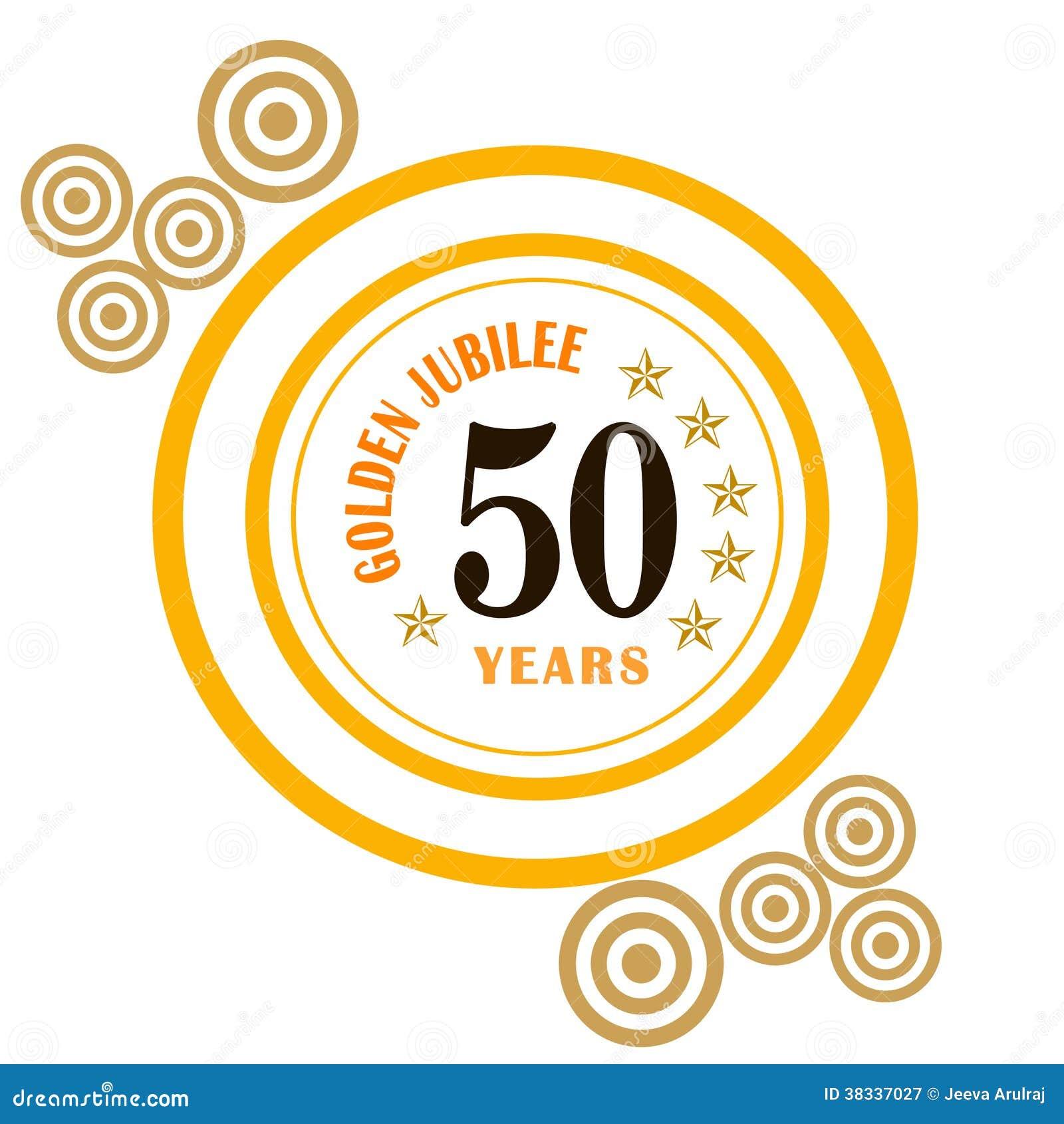 Golden jubilee stock illustration illustration of anniversary golden jubilee kristyandbryce Choice Image