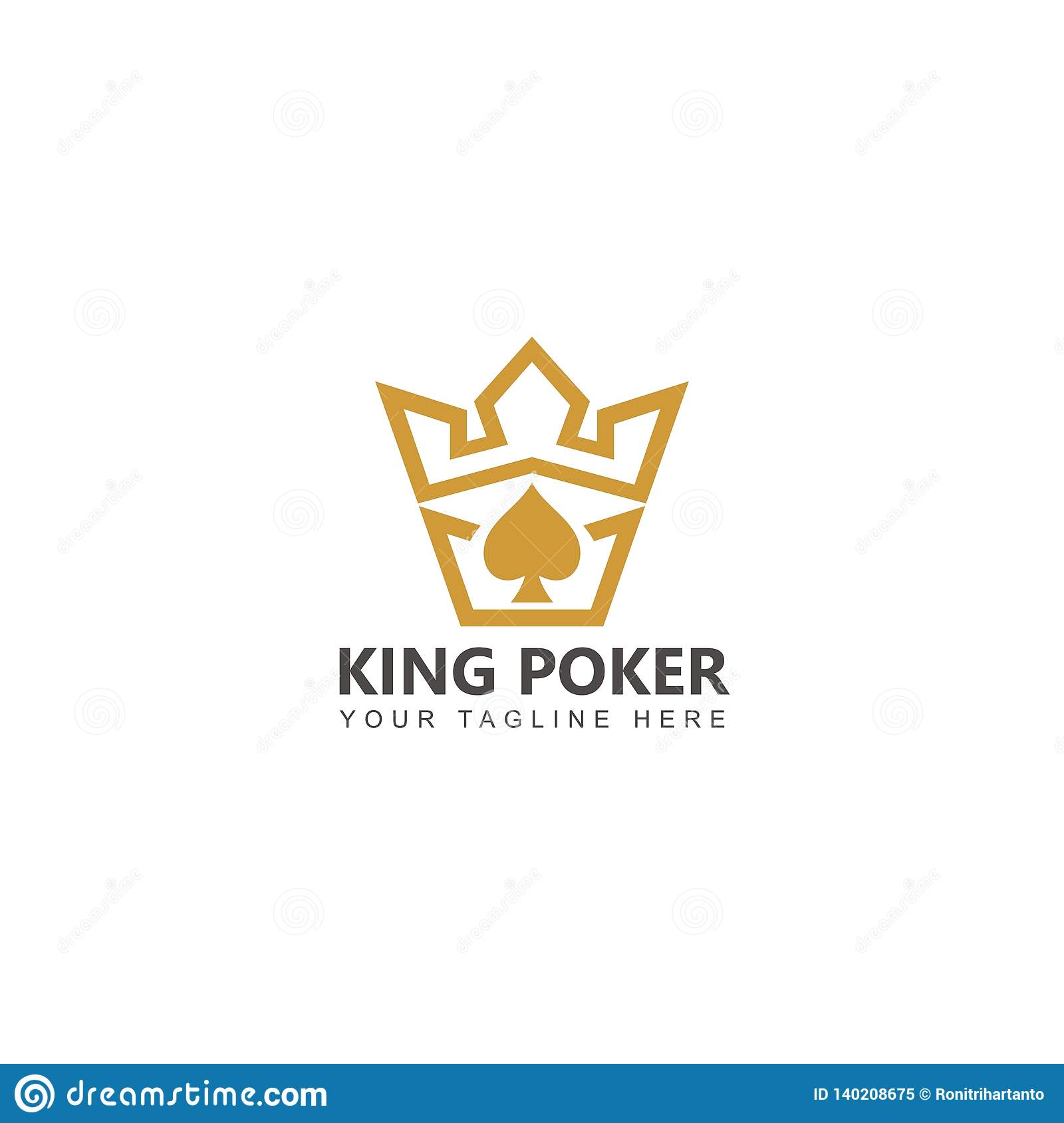 The King Royalty-Free Illustration