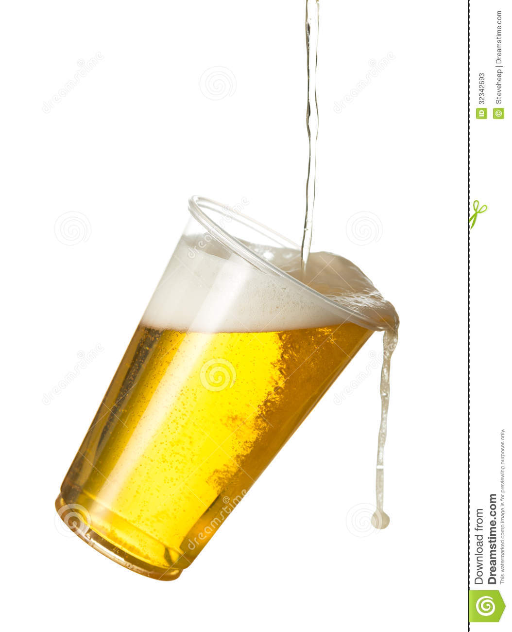 golden lager or beer in disposable plastic cup stock ice cube clip art svg ice cube clip art spilled on floor