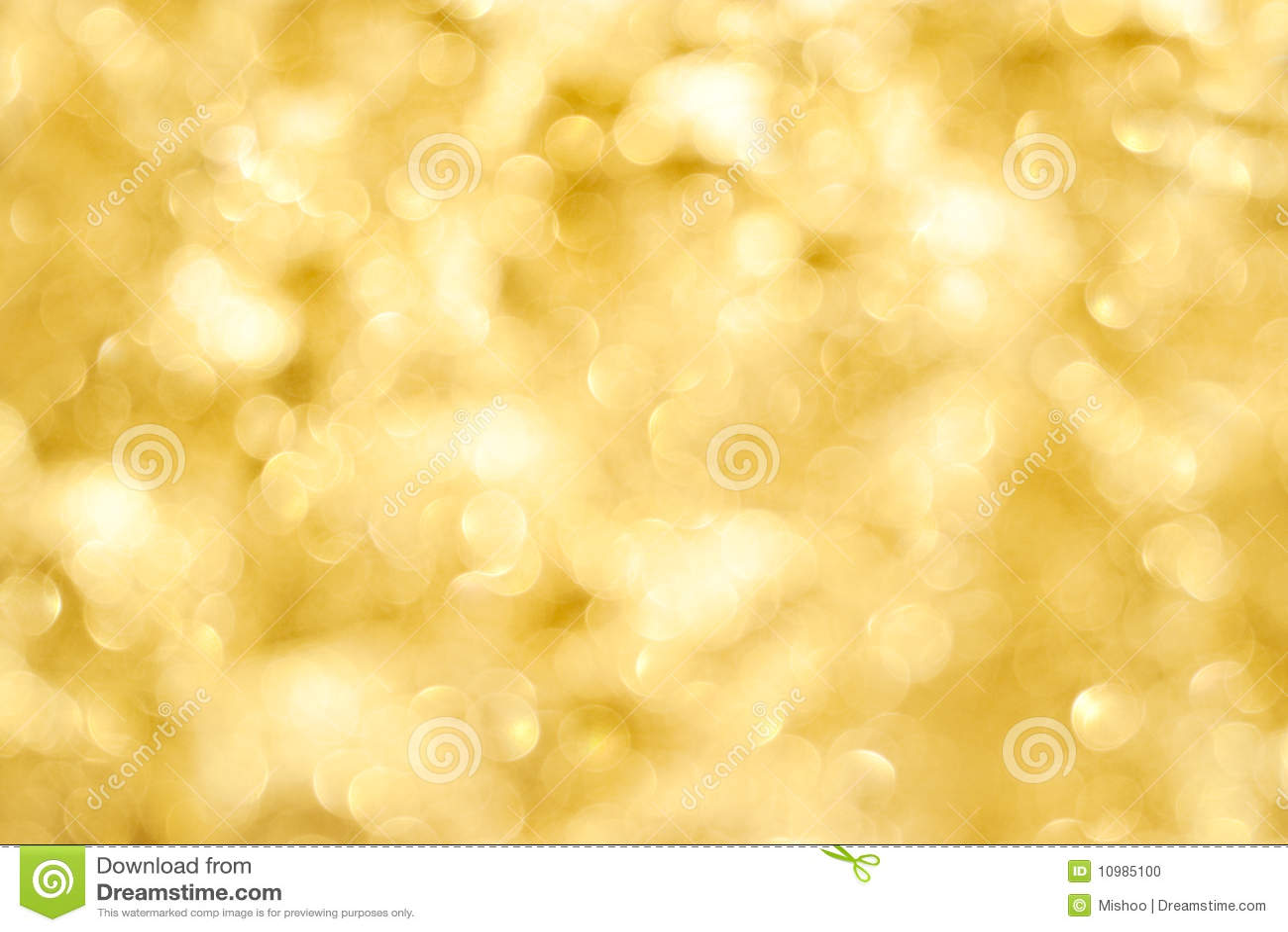 Golden Light Background Stock Photo Image 10985100