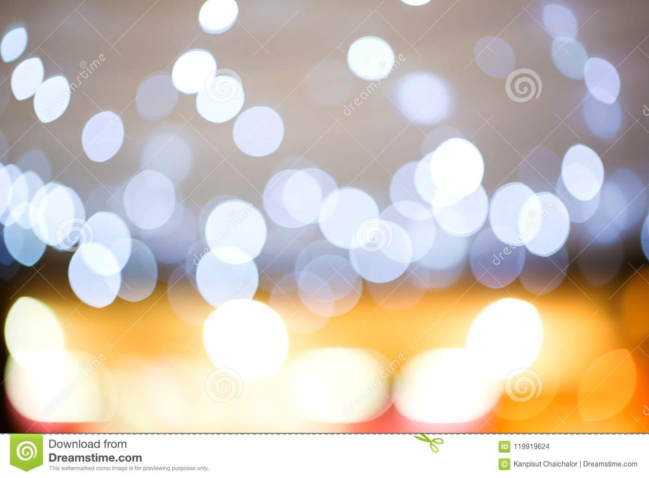 golden light bokeh. image created by soft and blur style for background,