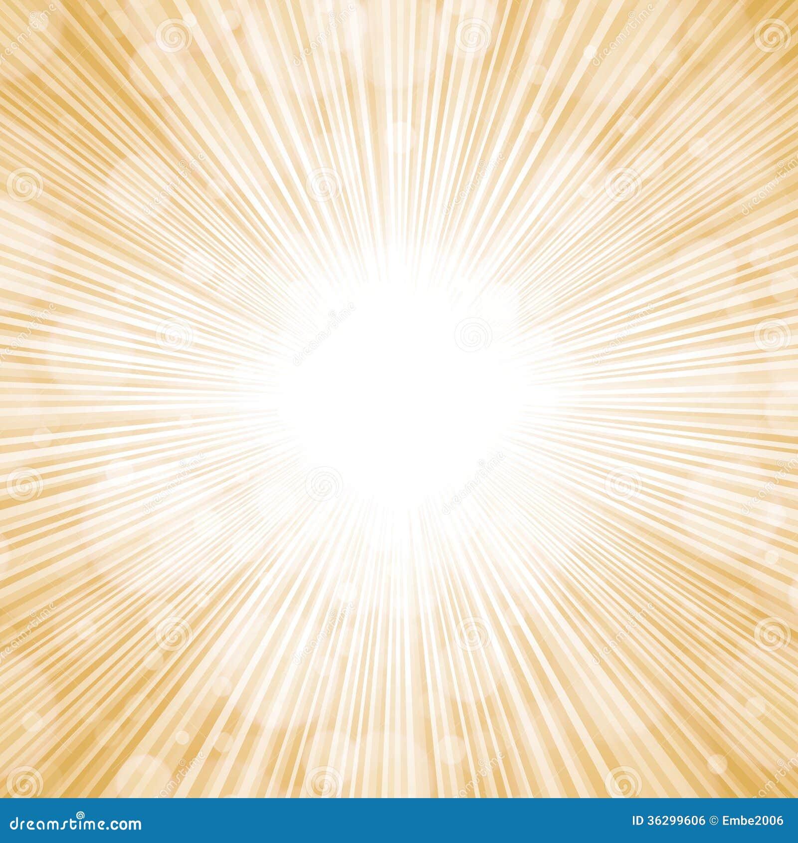 Golden Lights Background Stock Vector Image Of Easy