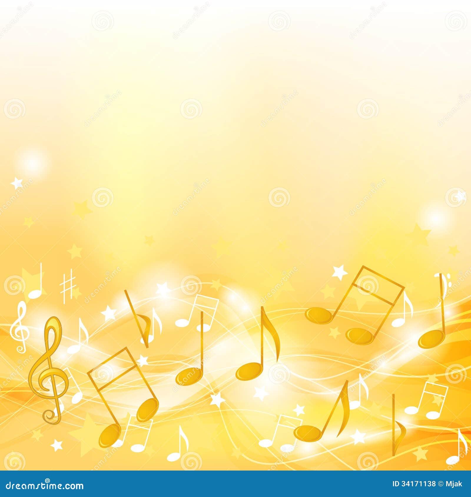 Golden Melody Royalty Free Stock Photos - Image: 34171138