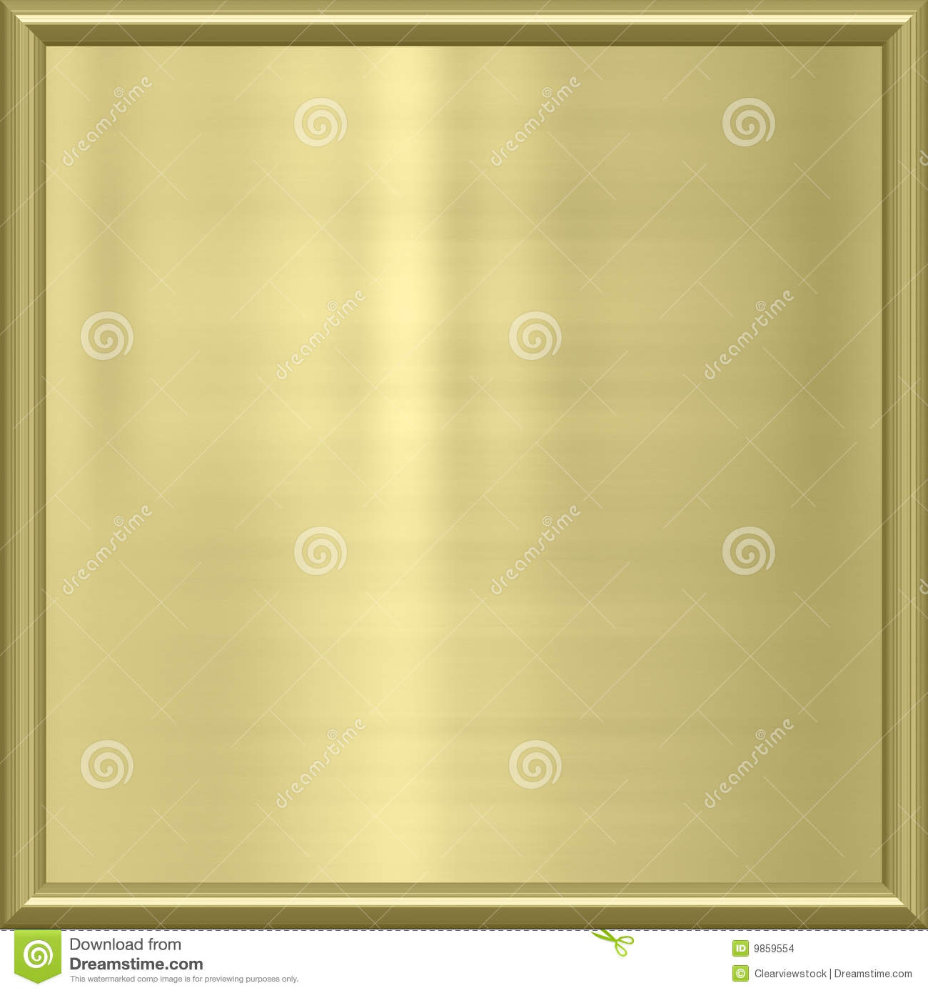 golden metal award frame stock images