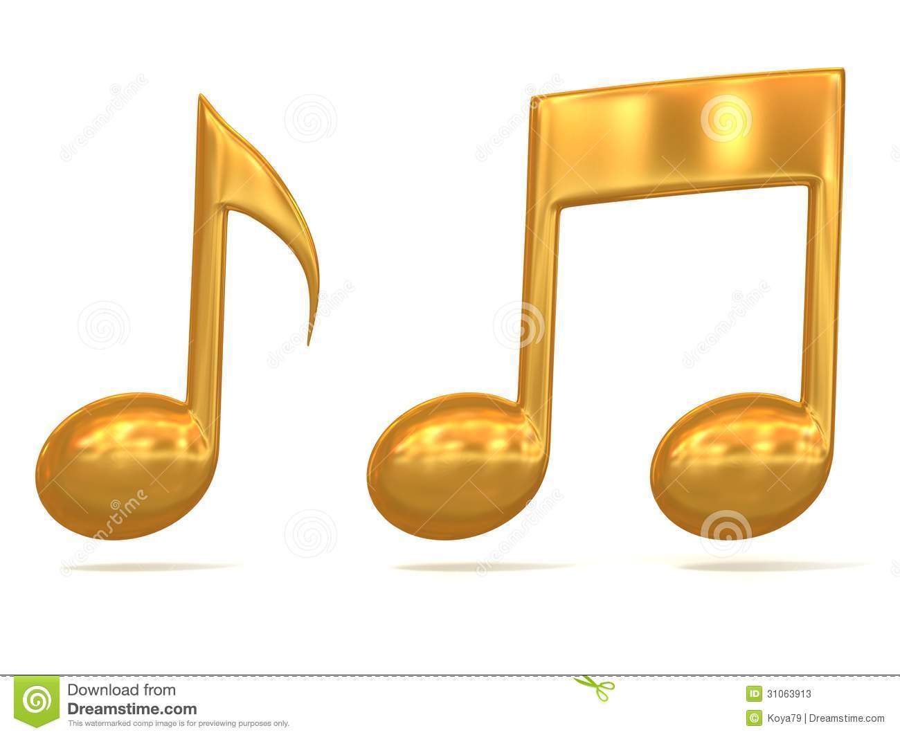 Music Note Icons Golden music note 3d icons on white background. mr ...: galleryhip.com/music-note-icons.html
