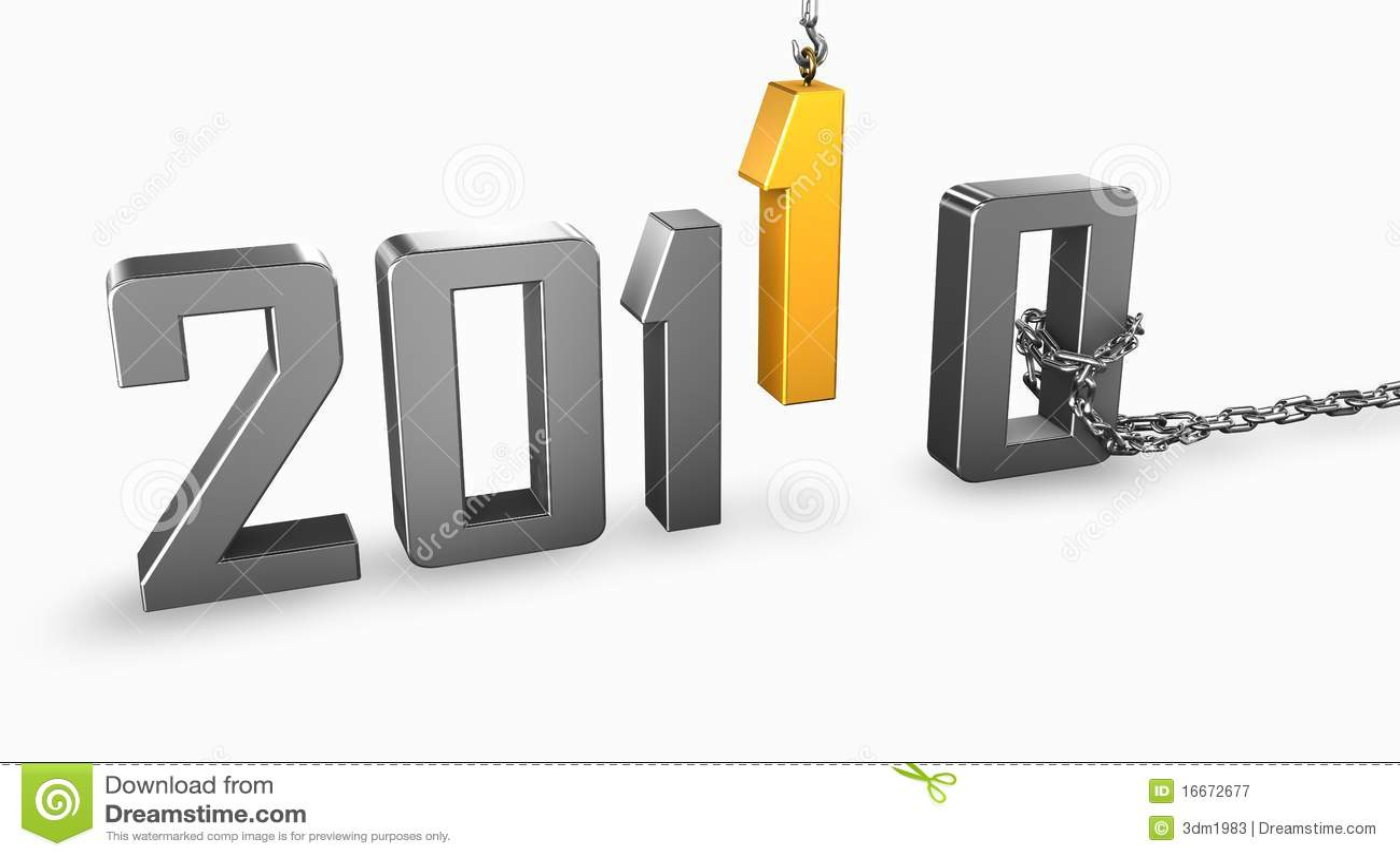 Golden new year 2011