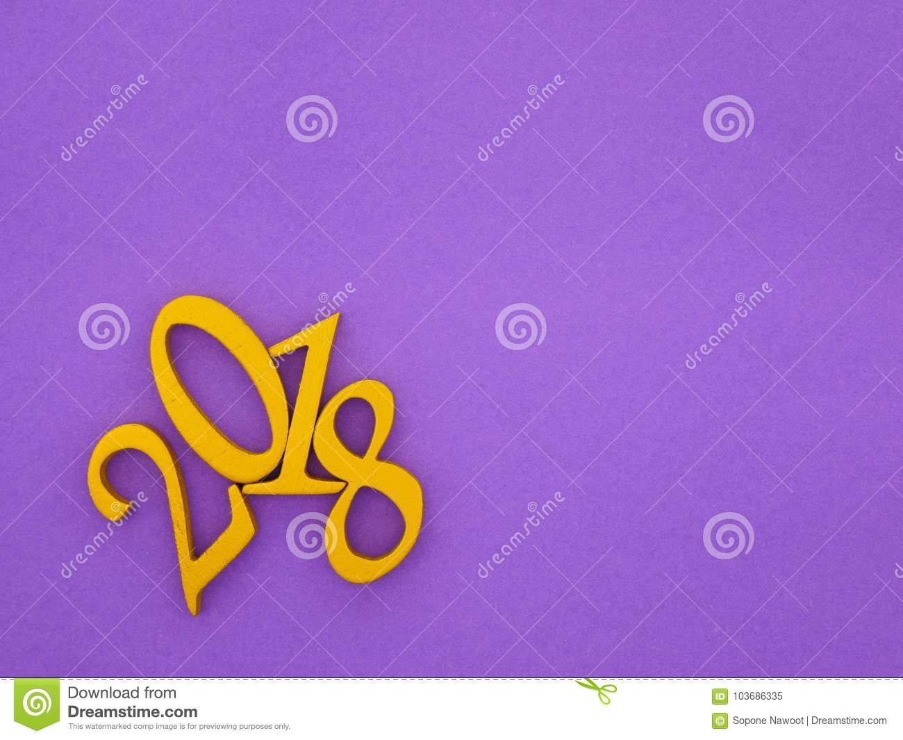 new year 2018 banner stock image image of greeting 103686335