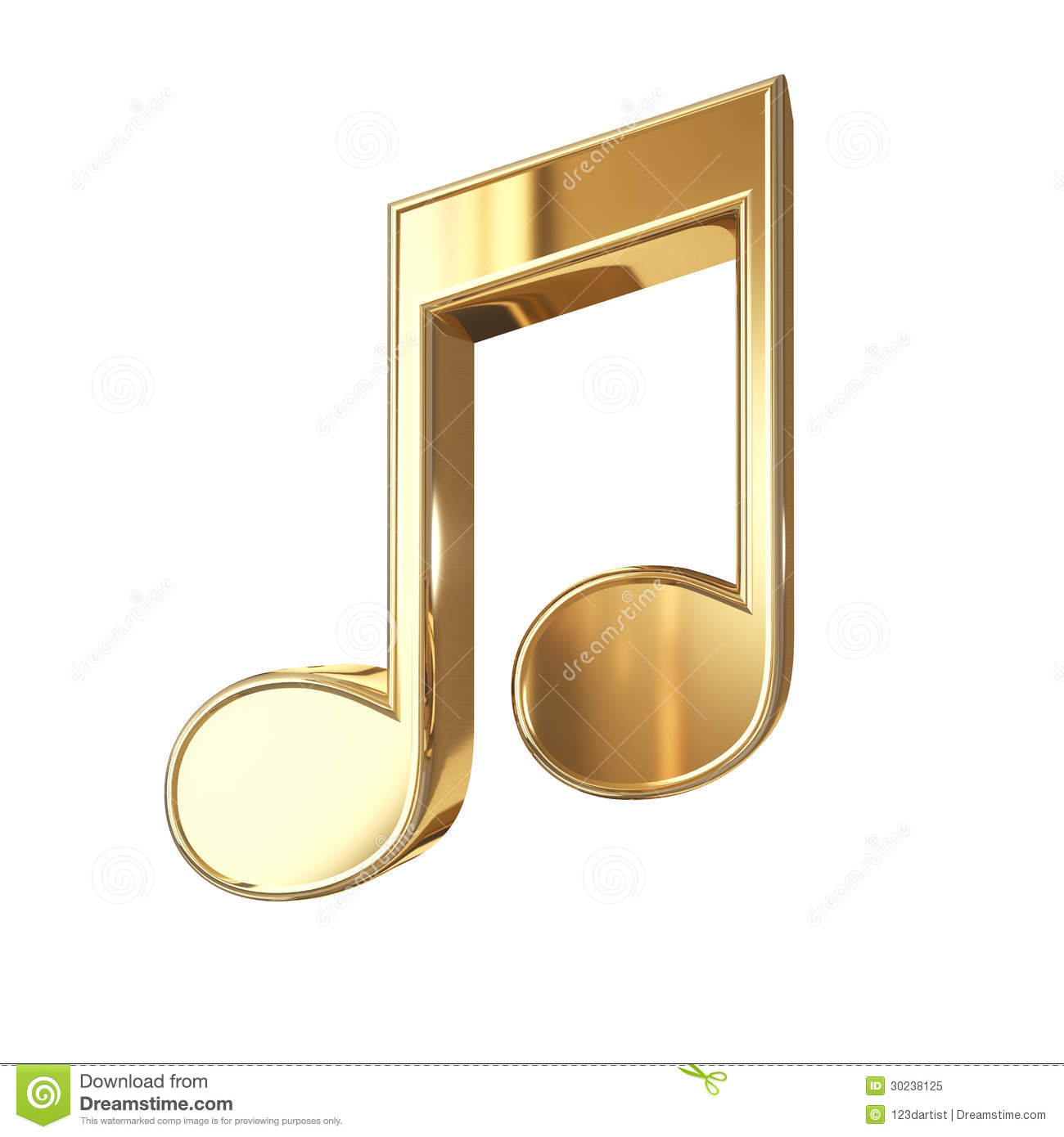 Golden music note isolated on white stock illustration download golden music note isolated on white stock illustration illustration of background line thecheapjerseys Gallery