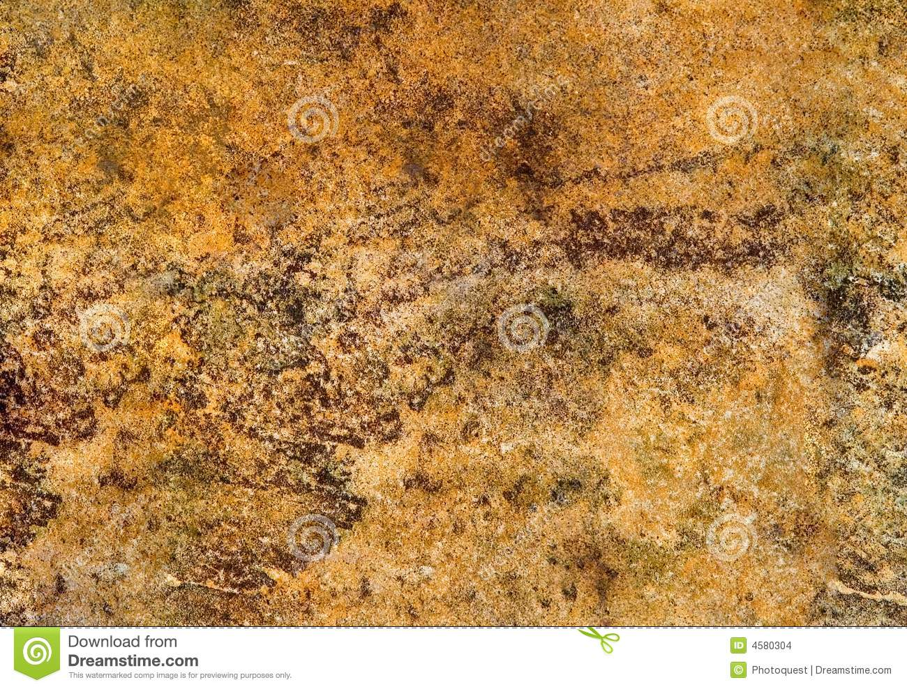 Golden old stone texture