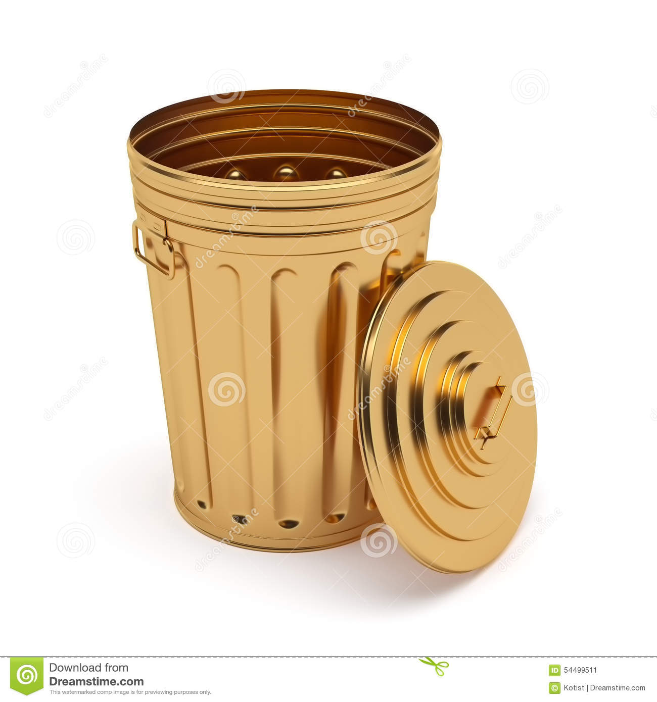 golden opened trash can isolated on white background stock Parental Advisory Vector in Hangeul Parental Advisory Logo Transparent