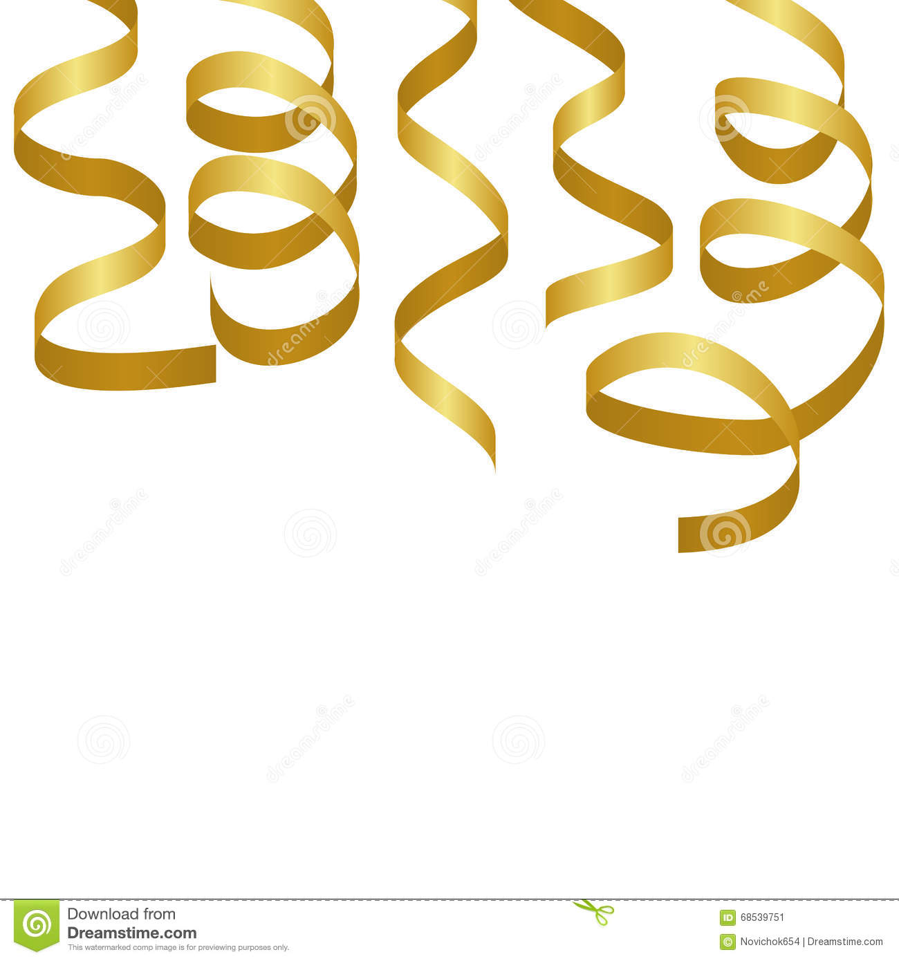 gold party vector - photo #9