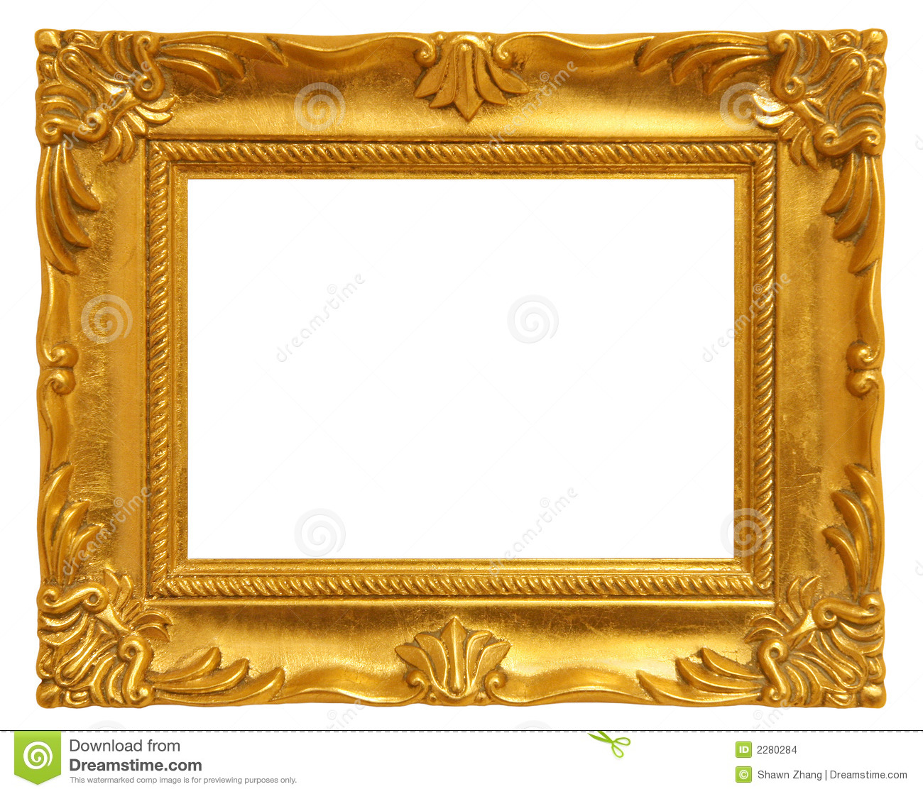 Golden Picture Frame