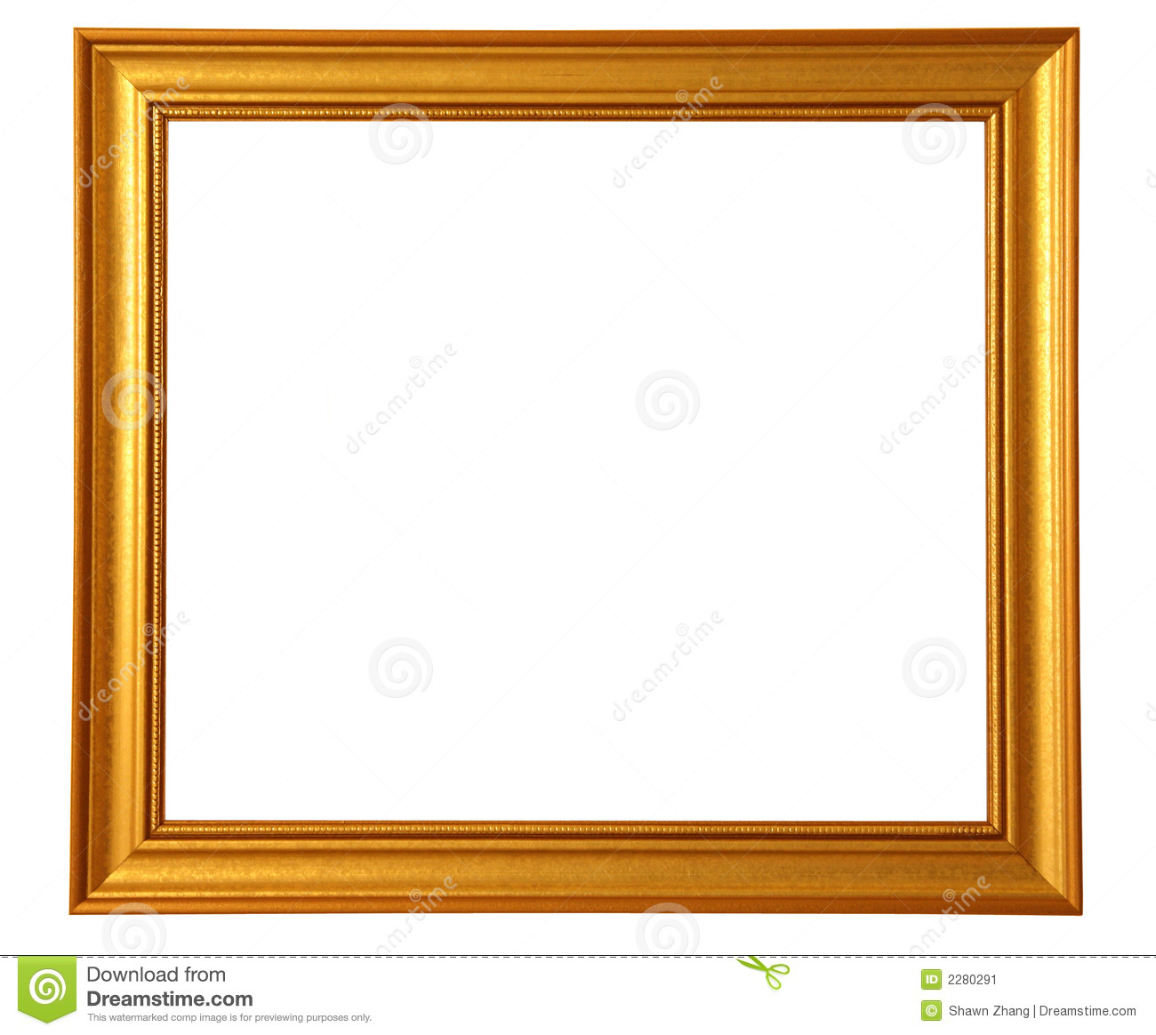 Gold stage curtains - Golden Picture Frame Stock Image Image 2280291