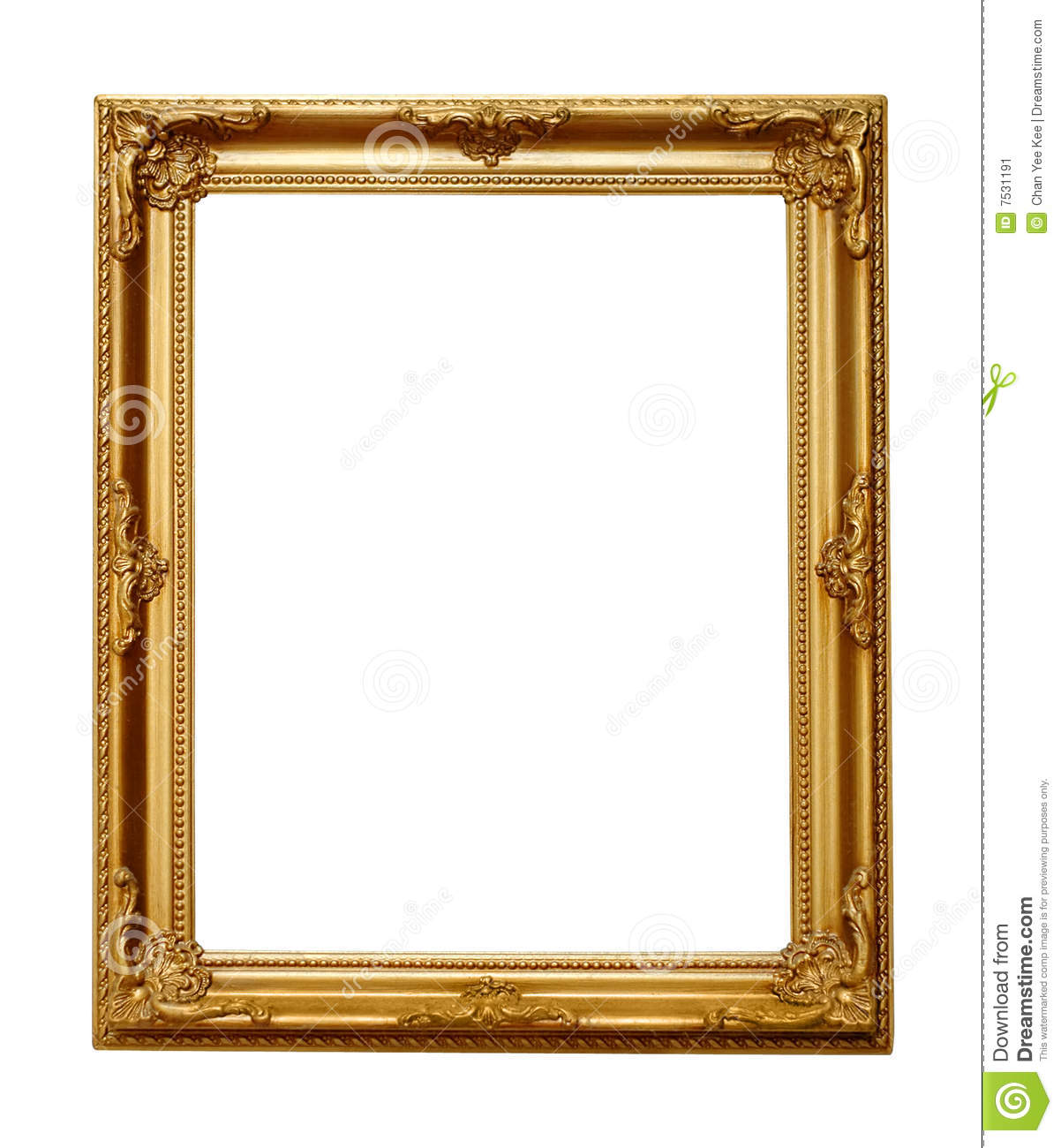 mirror with white frame