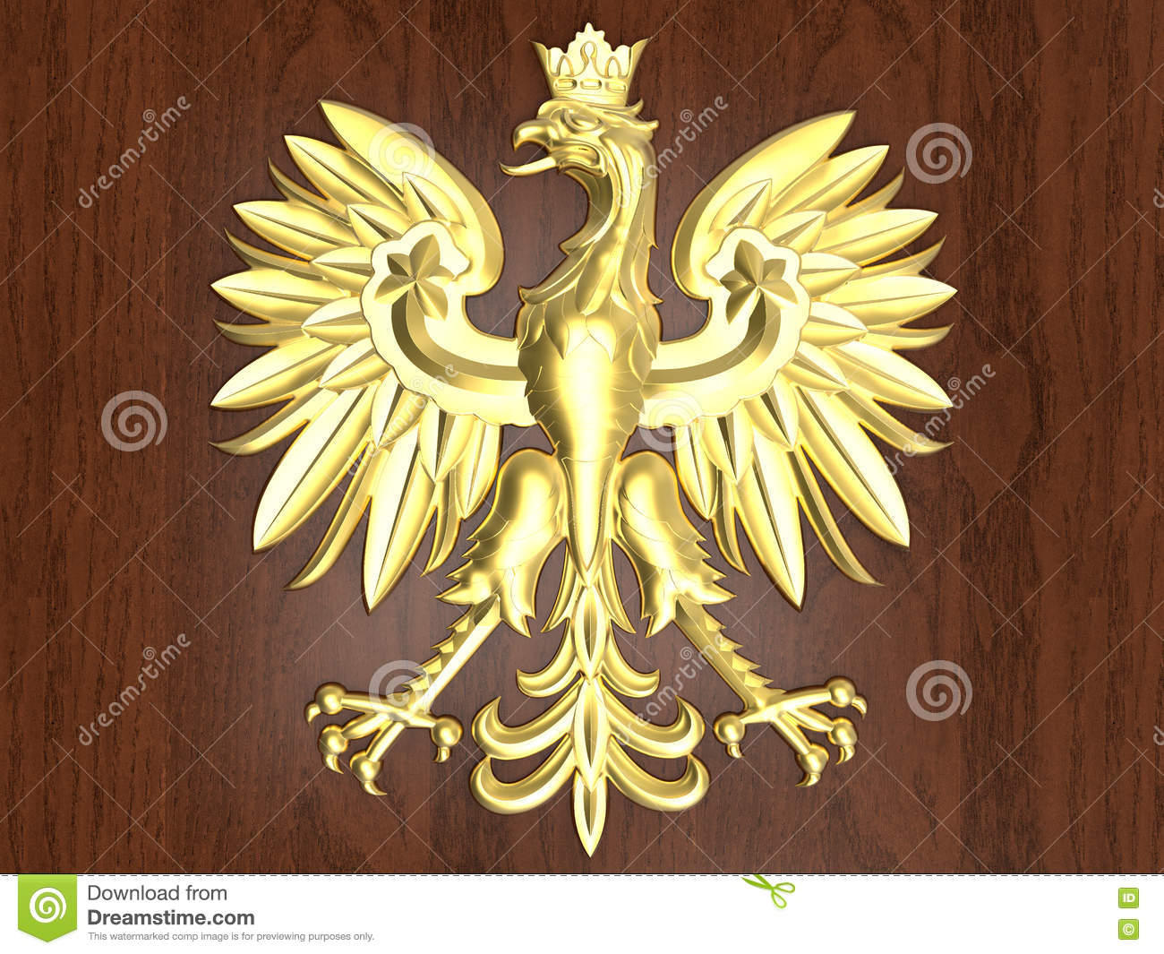 Golden Poland Emblem