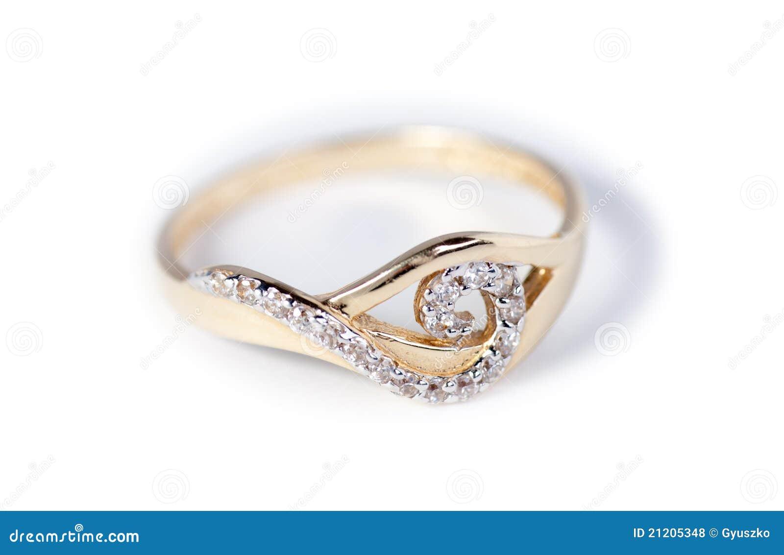Golden Ring stock photo. Image of garnet, platinum, object - 21205348