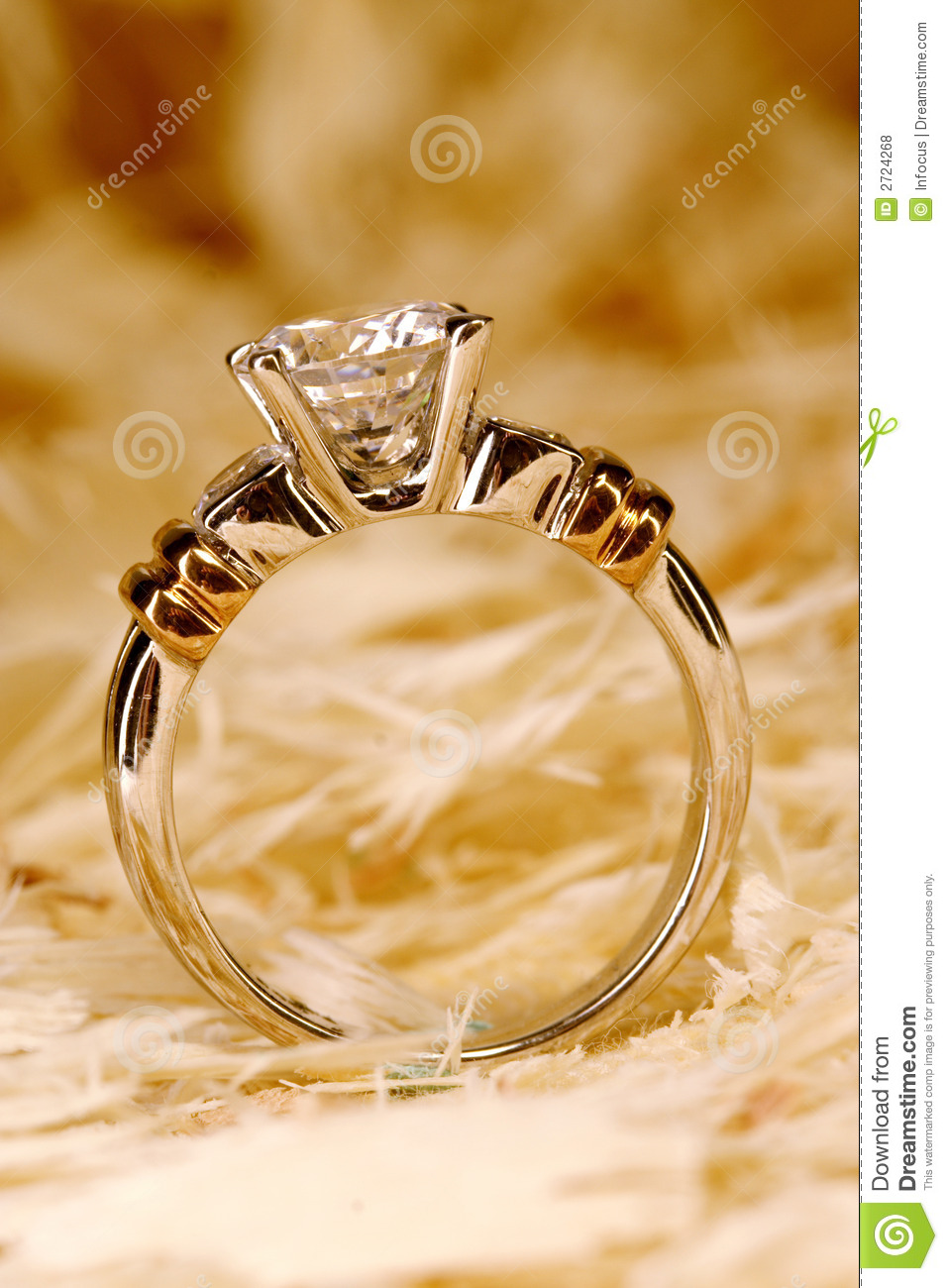 Golden ring stock photo. Image of expensive, precious - 2724268