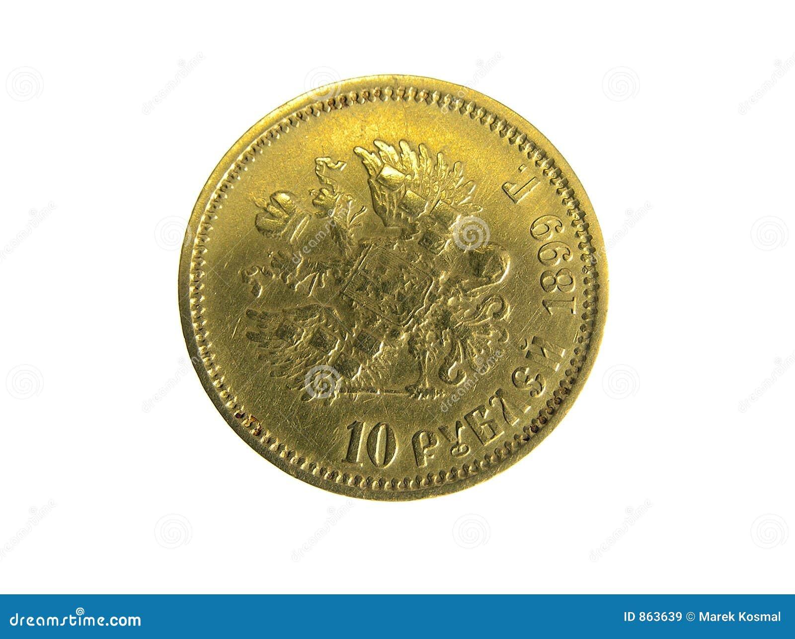 Golden roubles