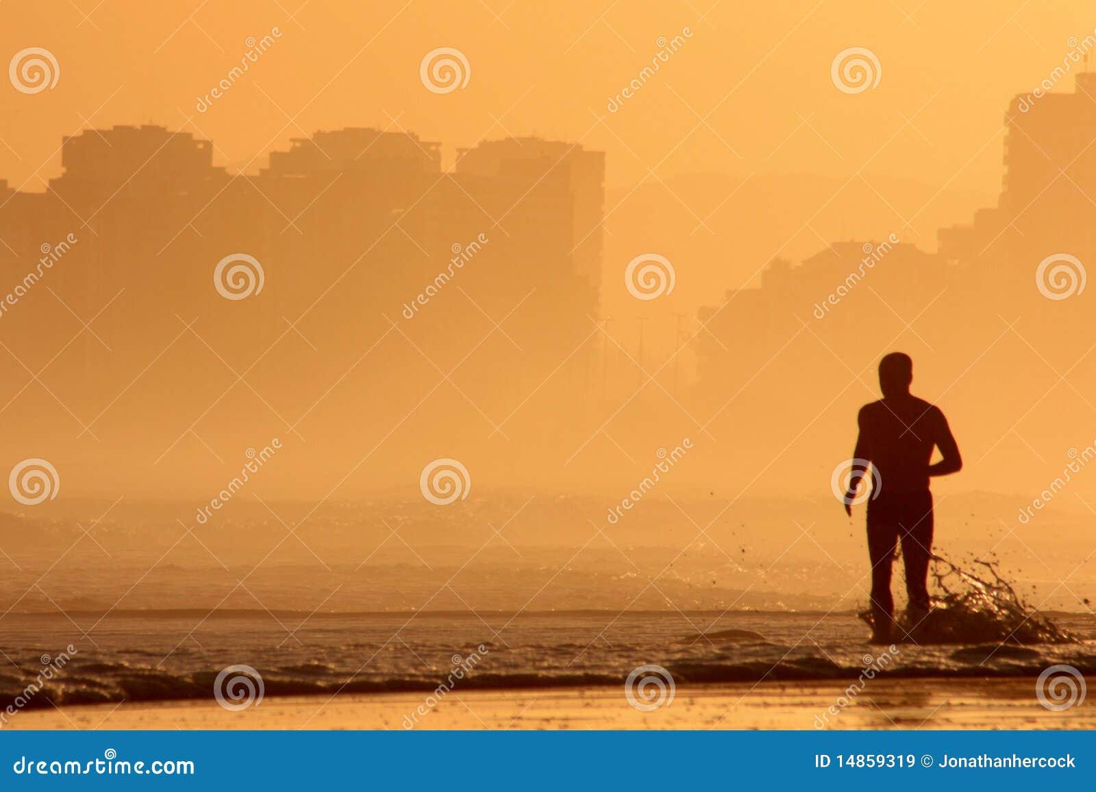 Golden running