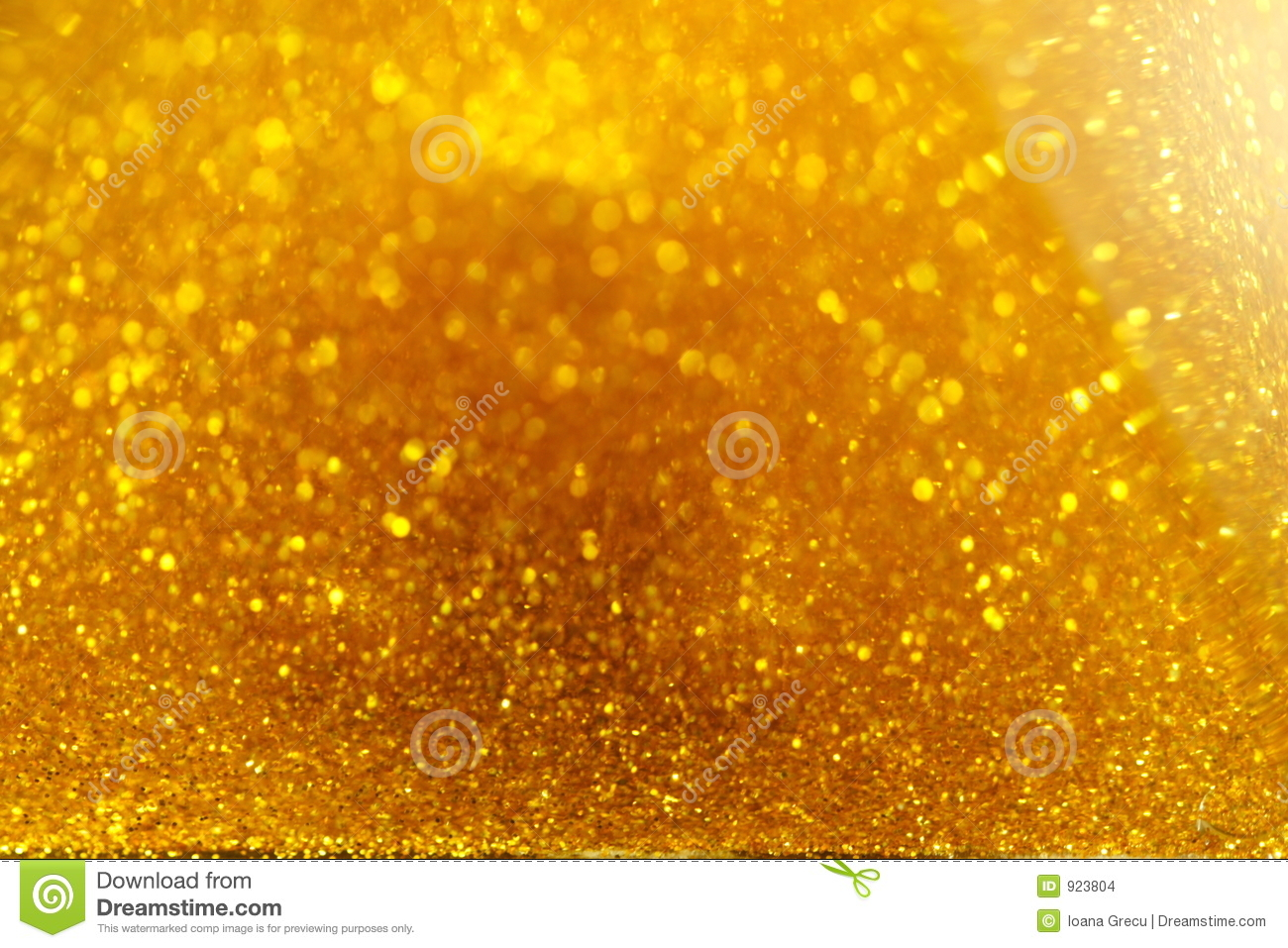 Golden sand of time