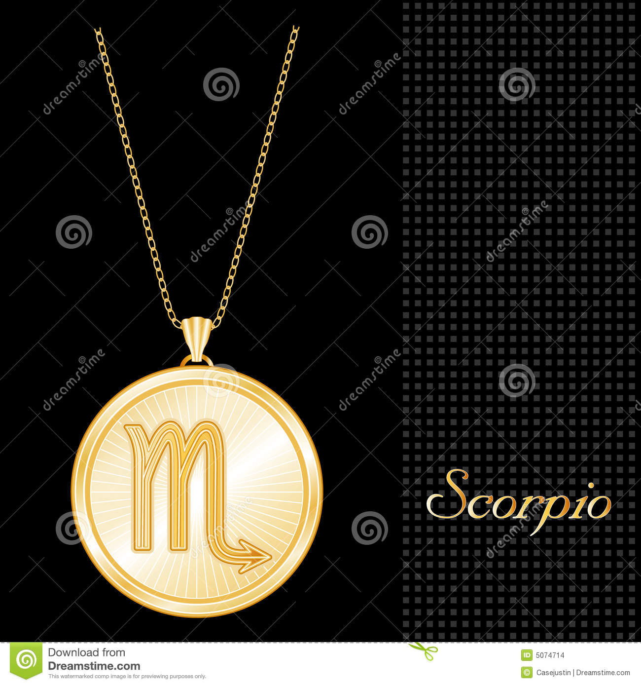 grandiose code product gold pendant scorpio buy online chain plated oxidized with
