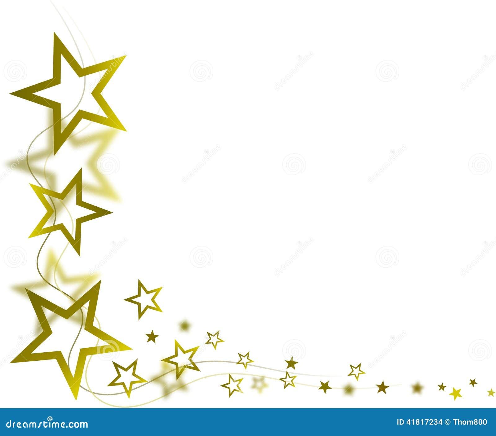 golden stars stock illustration