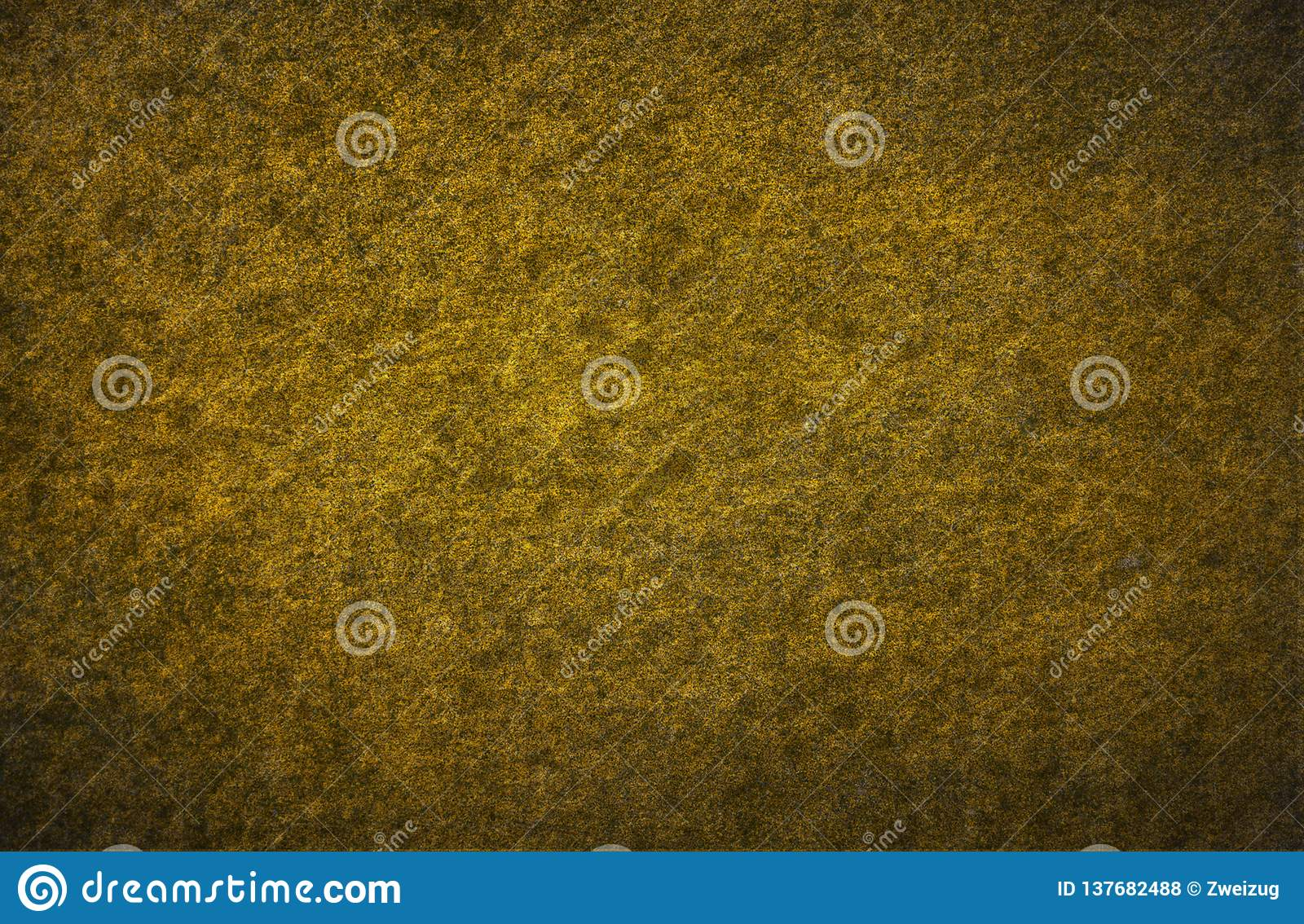 Golden stucco wall detail grunge pattern surface abstract texture background