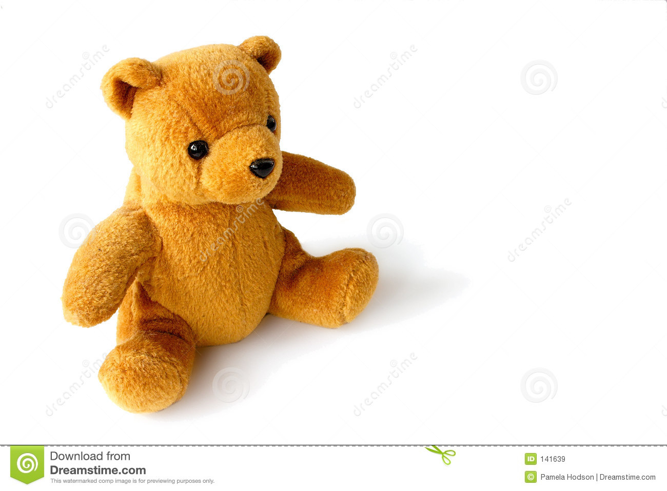 golden teddy bear stock image image of play infant brown 141639