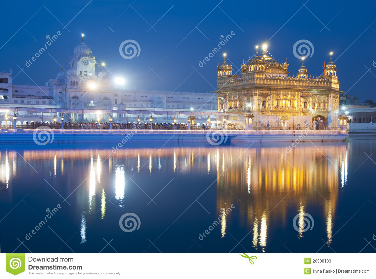 Golden Temple of Amritsar, India