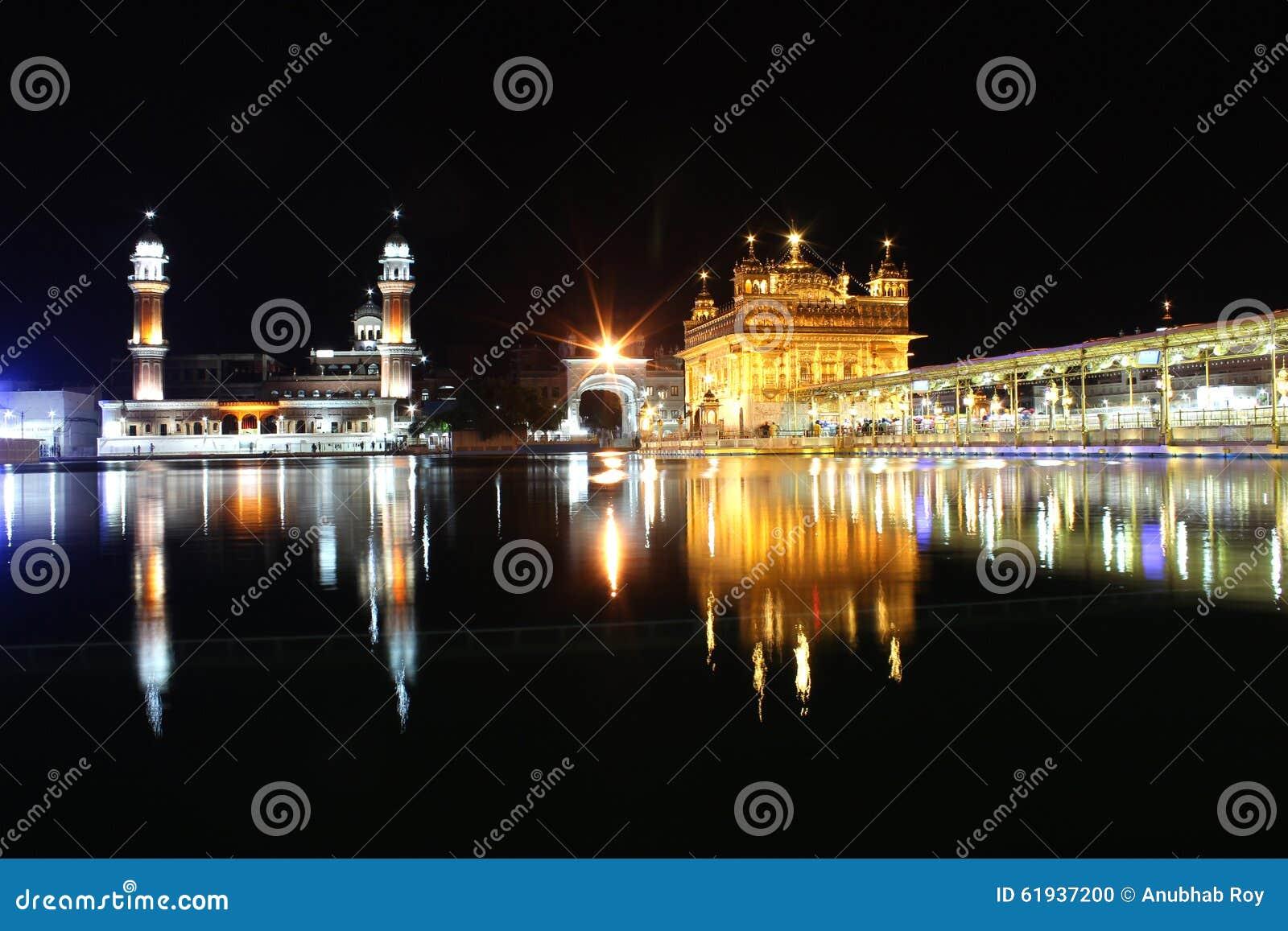 The Golden Temple, Amritsar, Punjab, India Editorial Image