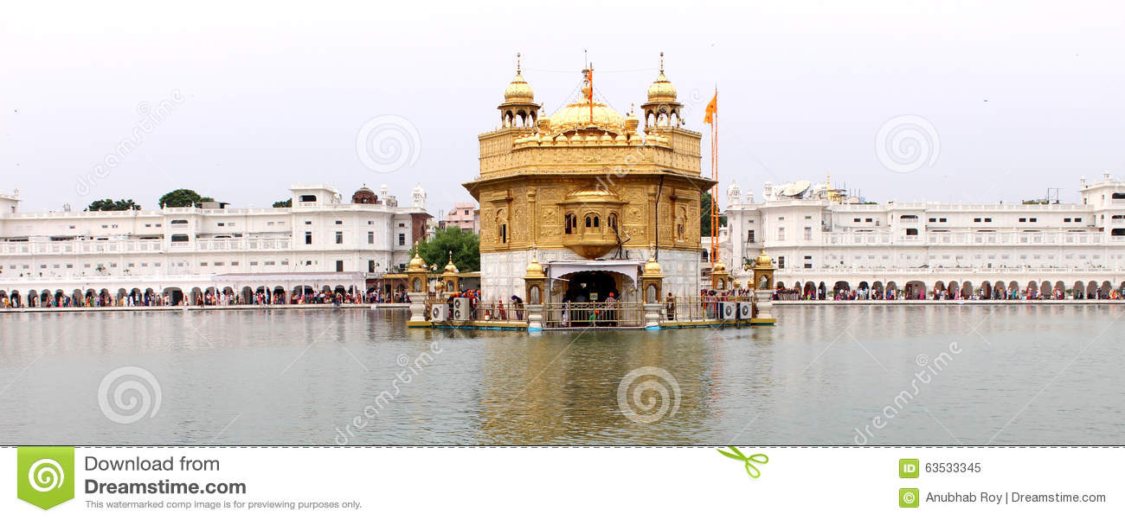 The Golden Temple, Amritsar, Punjab, India Stock Image - Image of