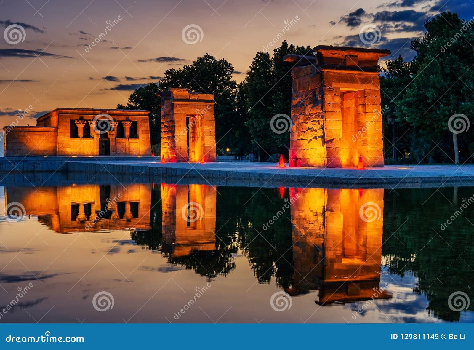 The Golden Temple of Debod