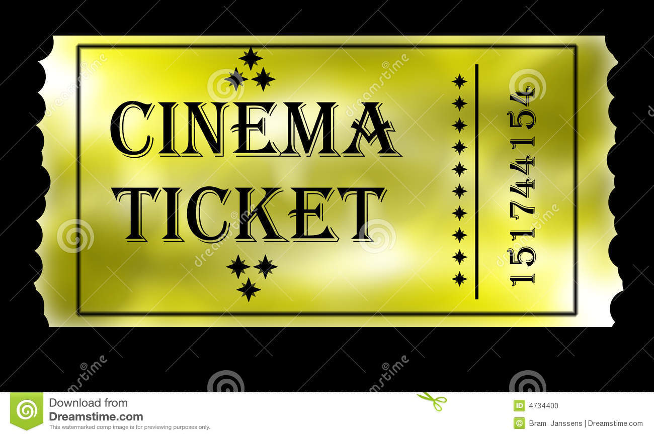 Golden Ticket Stock Photo - Image: 4734400