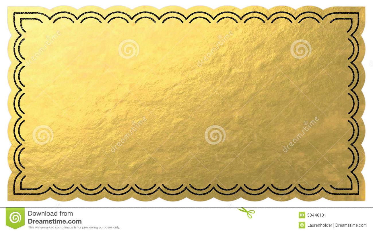 Golden Ticket Stock Illustrations – 1,757 Golden Ticket Stock ...