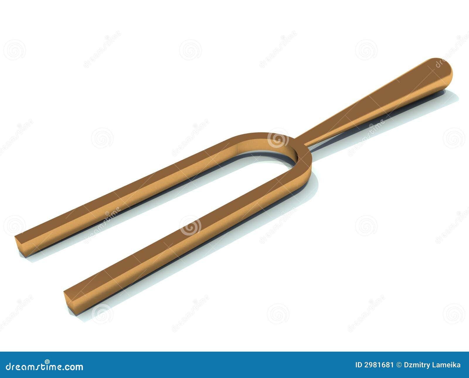 Golden Tuning Fork