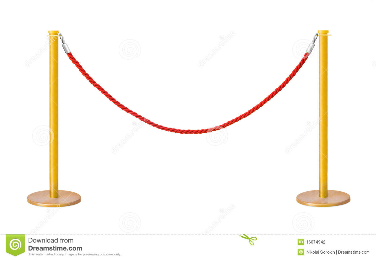 Stock Photography Golden Velvet Rope Barrier Image16074942 on award ceremony background