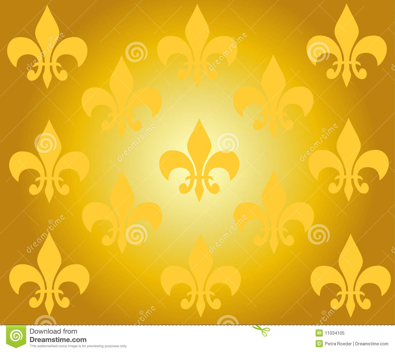 Golden Design Wallpaper : Golden wallpaper ornament design royalty free stock photo