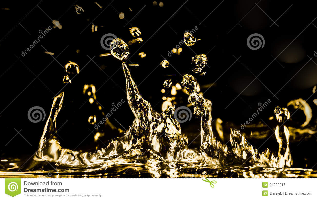 Golden Water figures