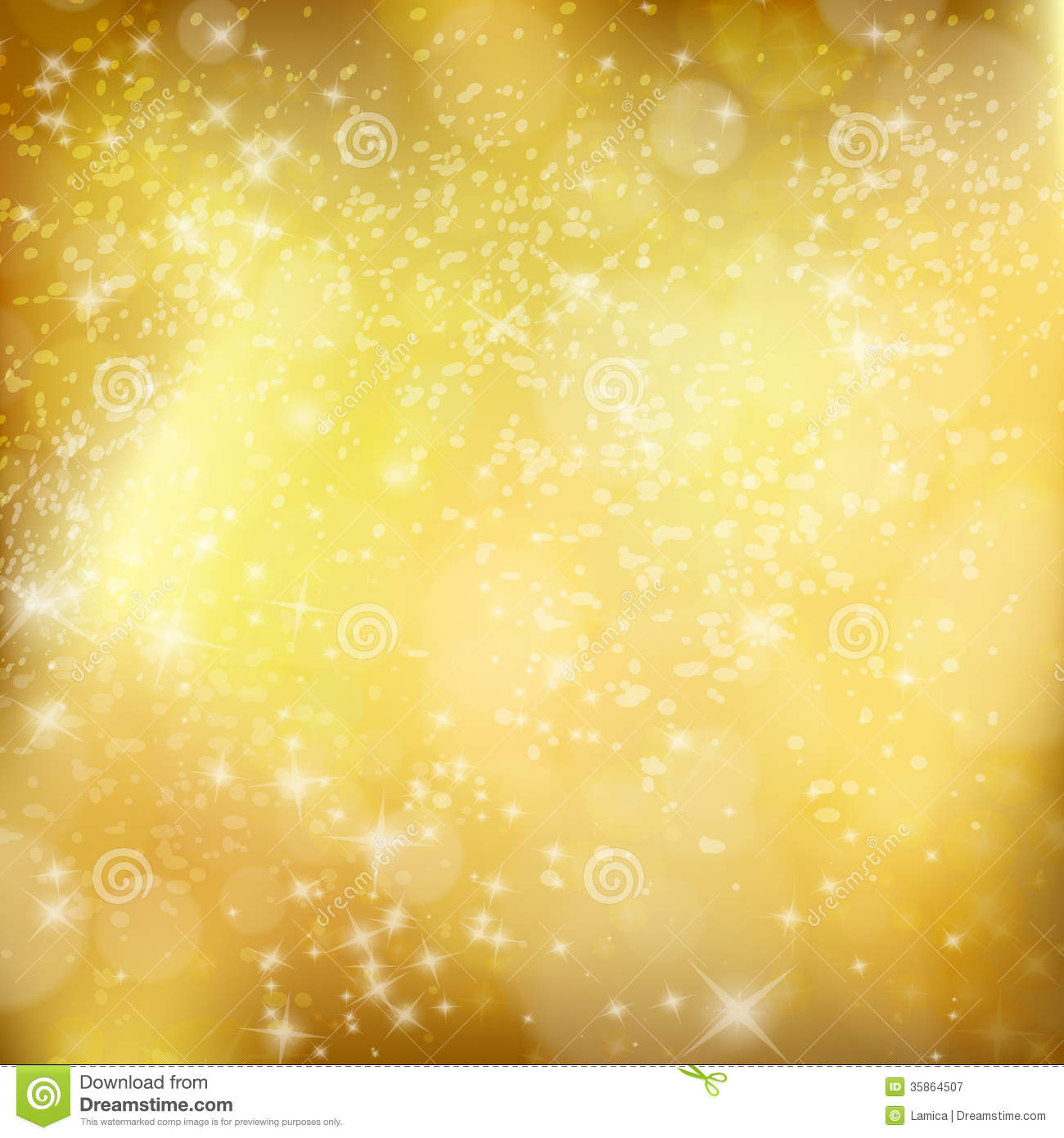 golden xmas background abstract winter design with stars and sn