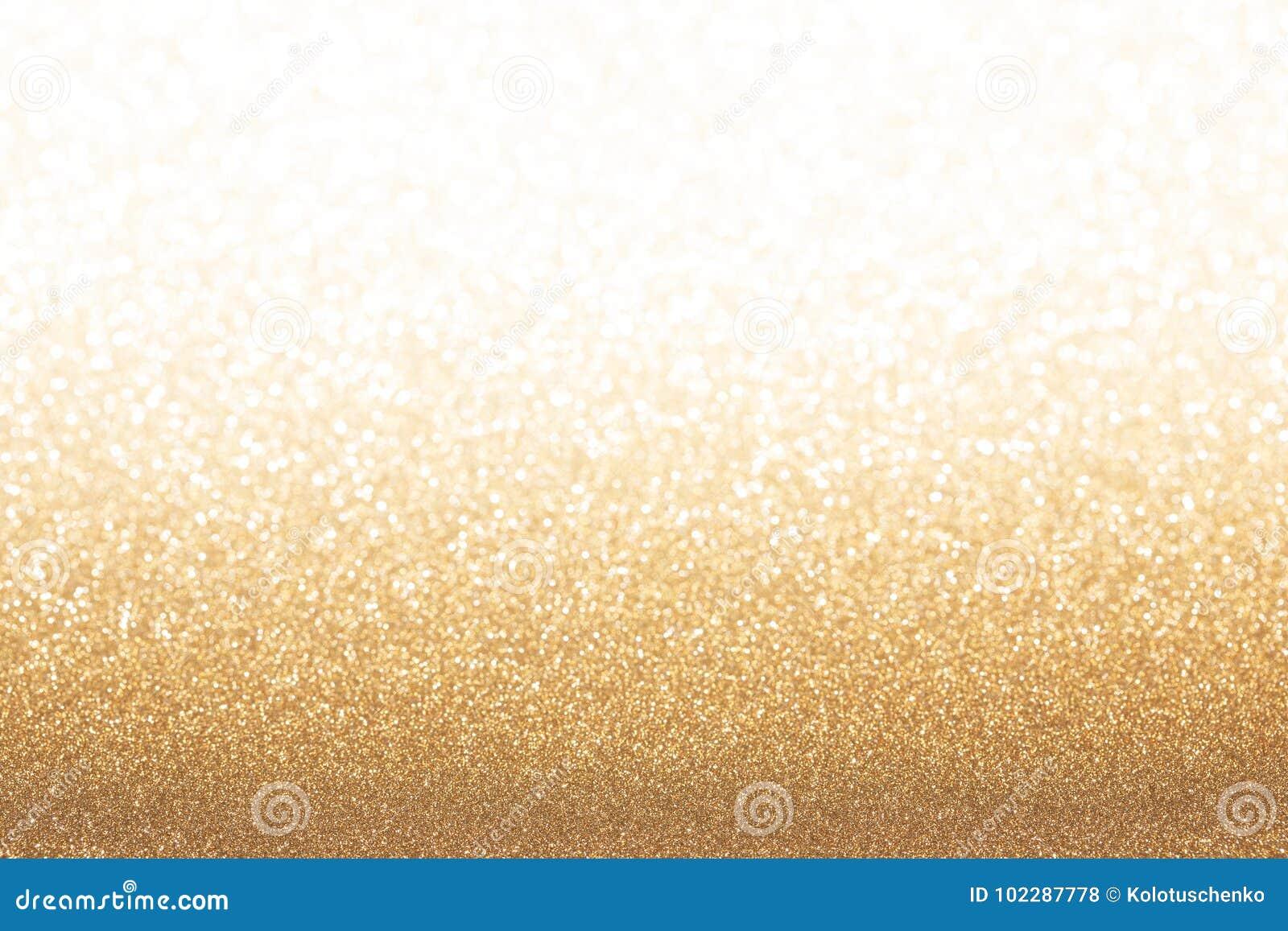 Golden yellow glitter background.